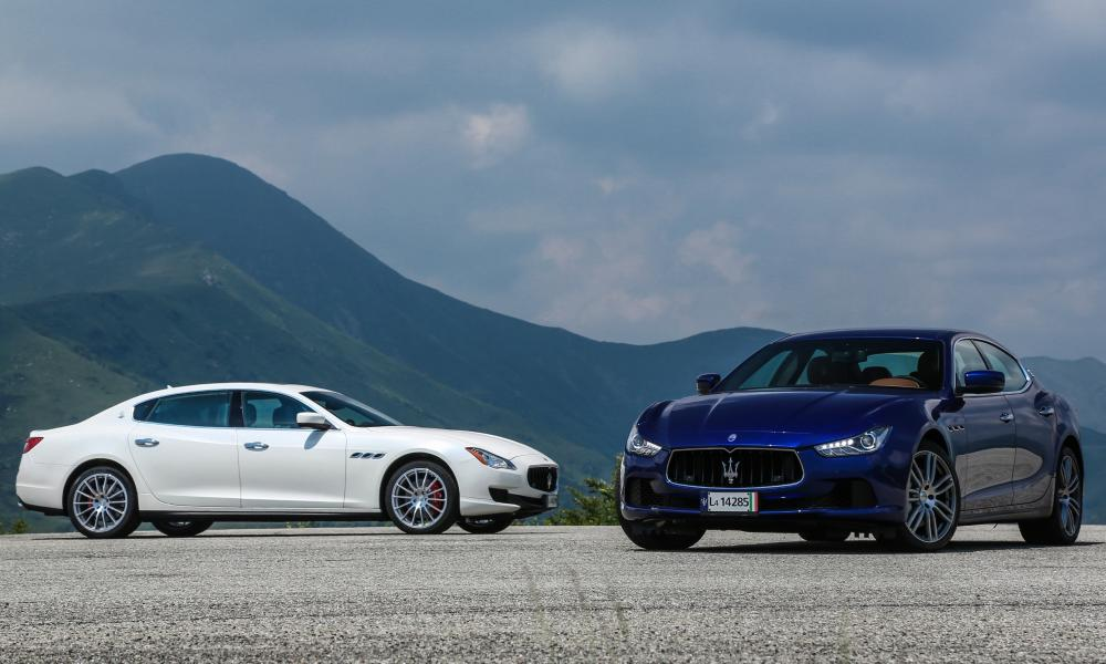 Longer, lighter and more efficient: the Maserati Quattroporte gets the luxury limo treatment