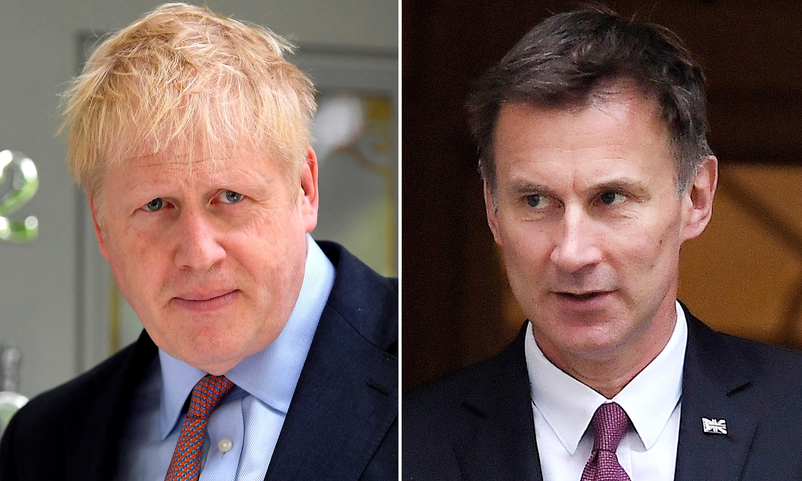 Johnson v Hunt: their policies, personal style and pasts compared