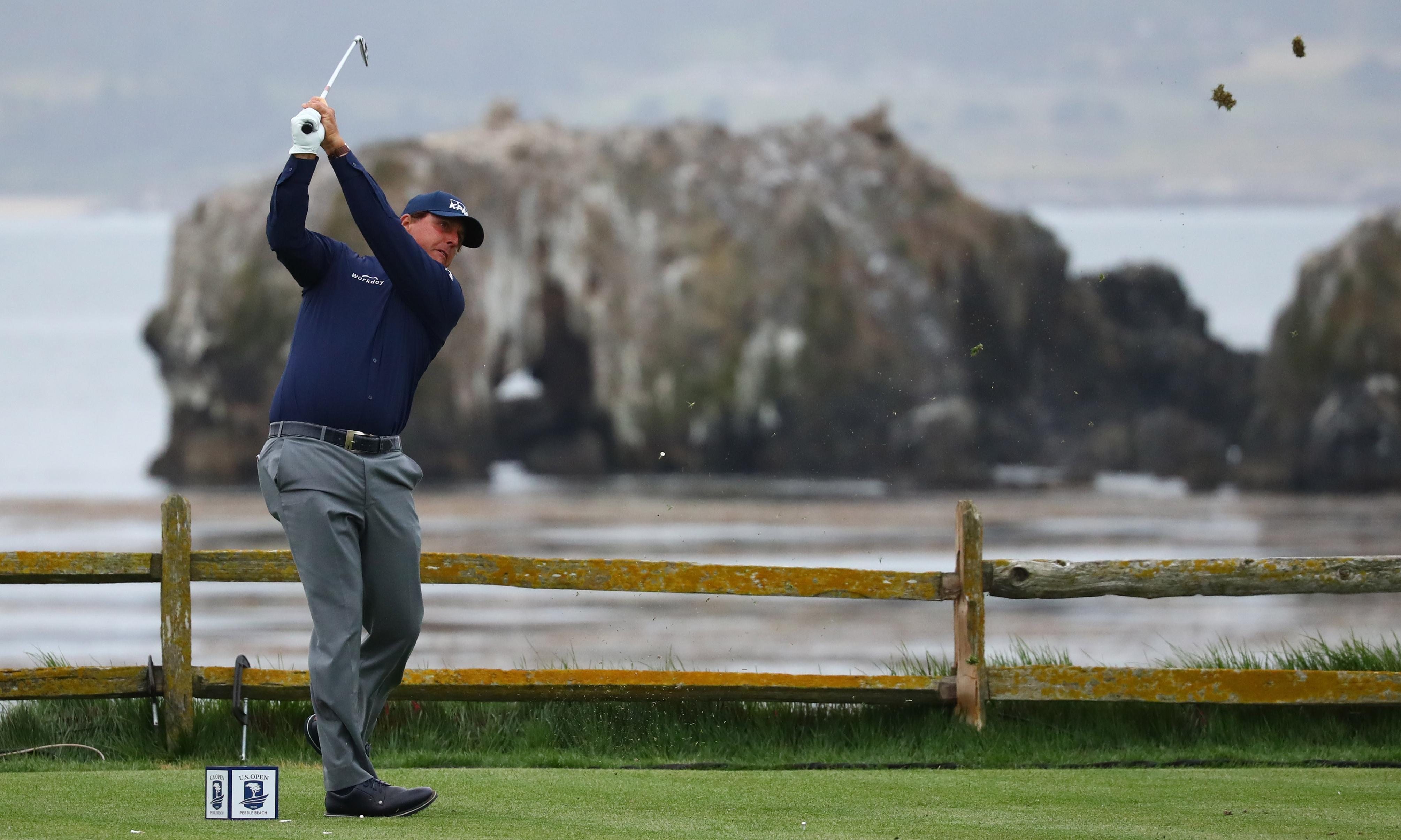Phil Mickelson springs major surprise by praising USGA over Pebble Beach