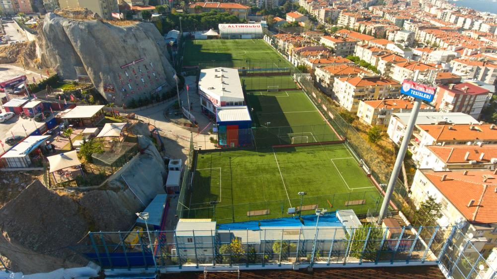 The Altinordu complex at Yesilyurt, where the under-seven to under-13 sides are based
