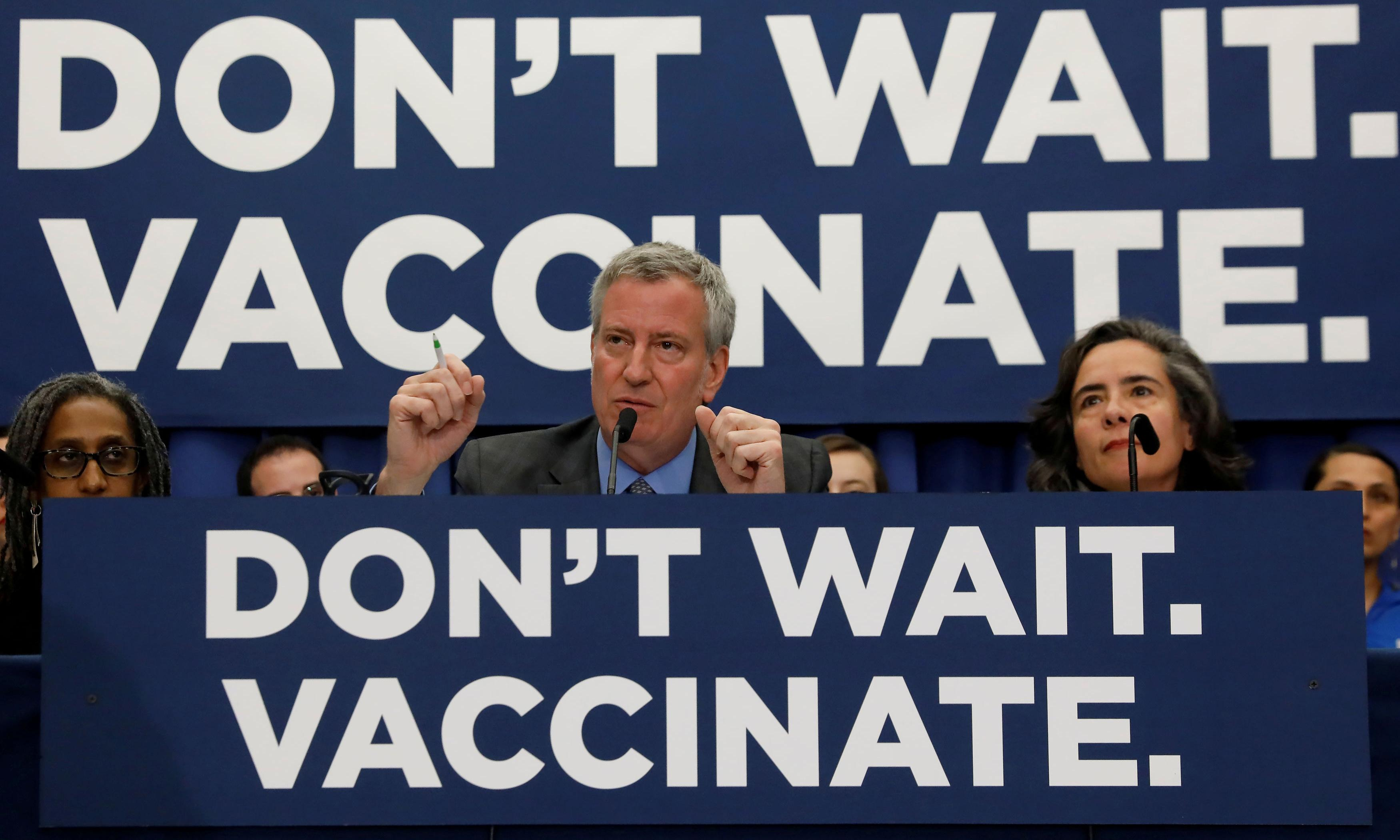 US records 33 new measles cases in a week in worst outbreak since 1992