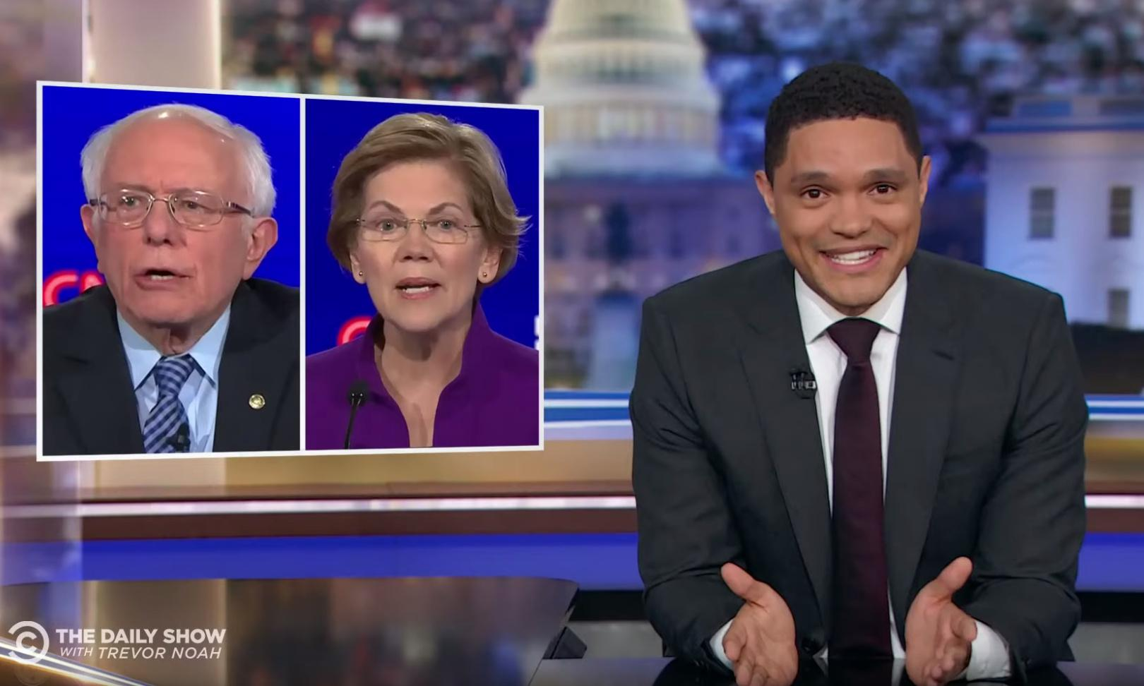 Trevor Noah on Democratic debate: 'Six candidates, all of them white'