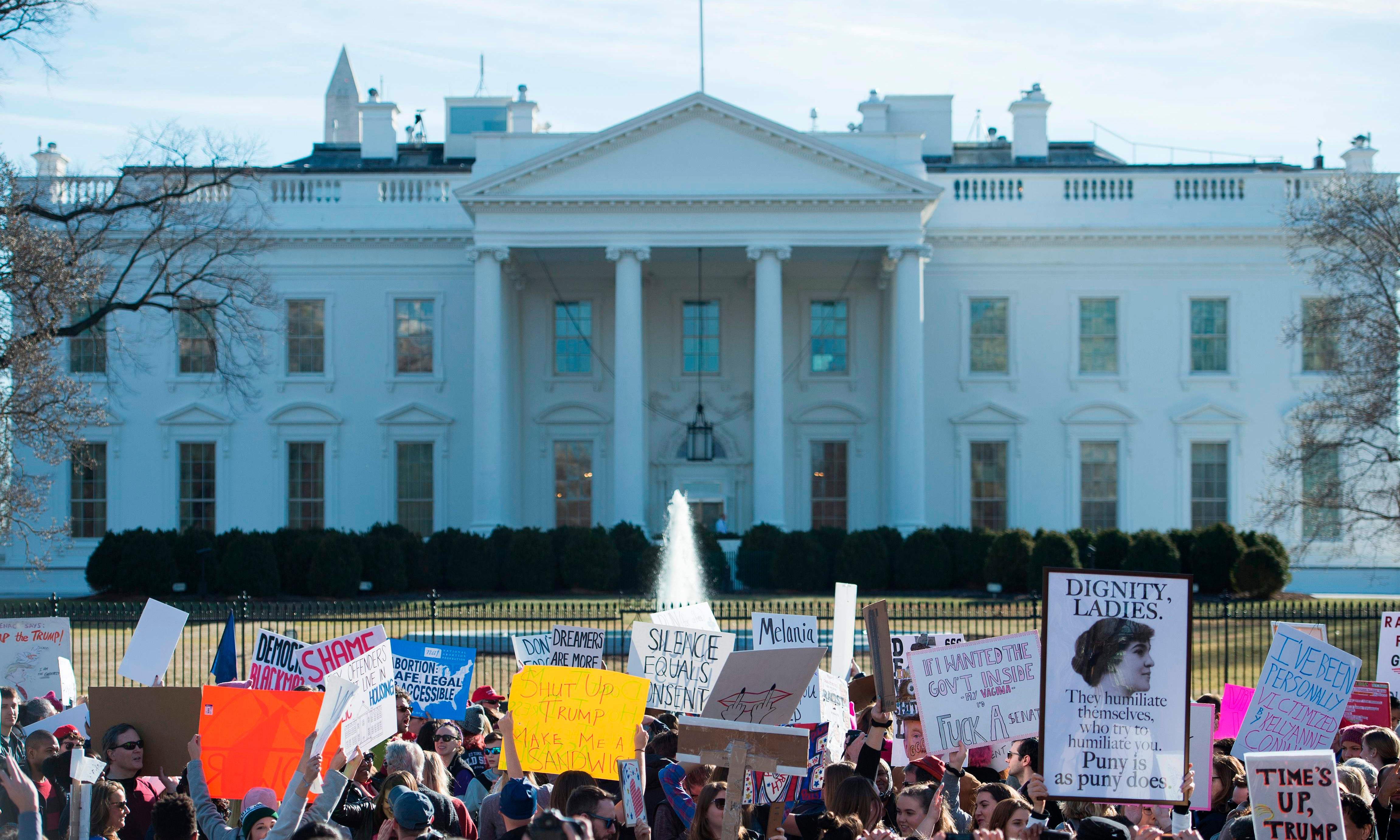 Trump administration plans crackdown on protests outside White House