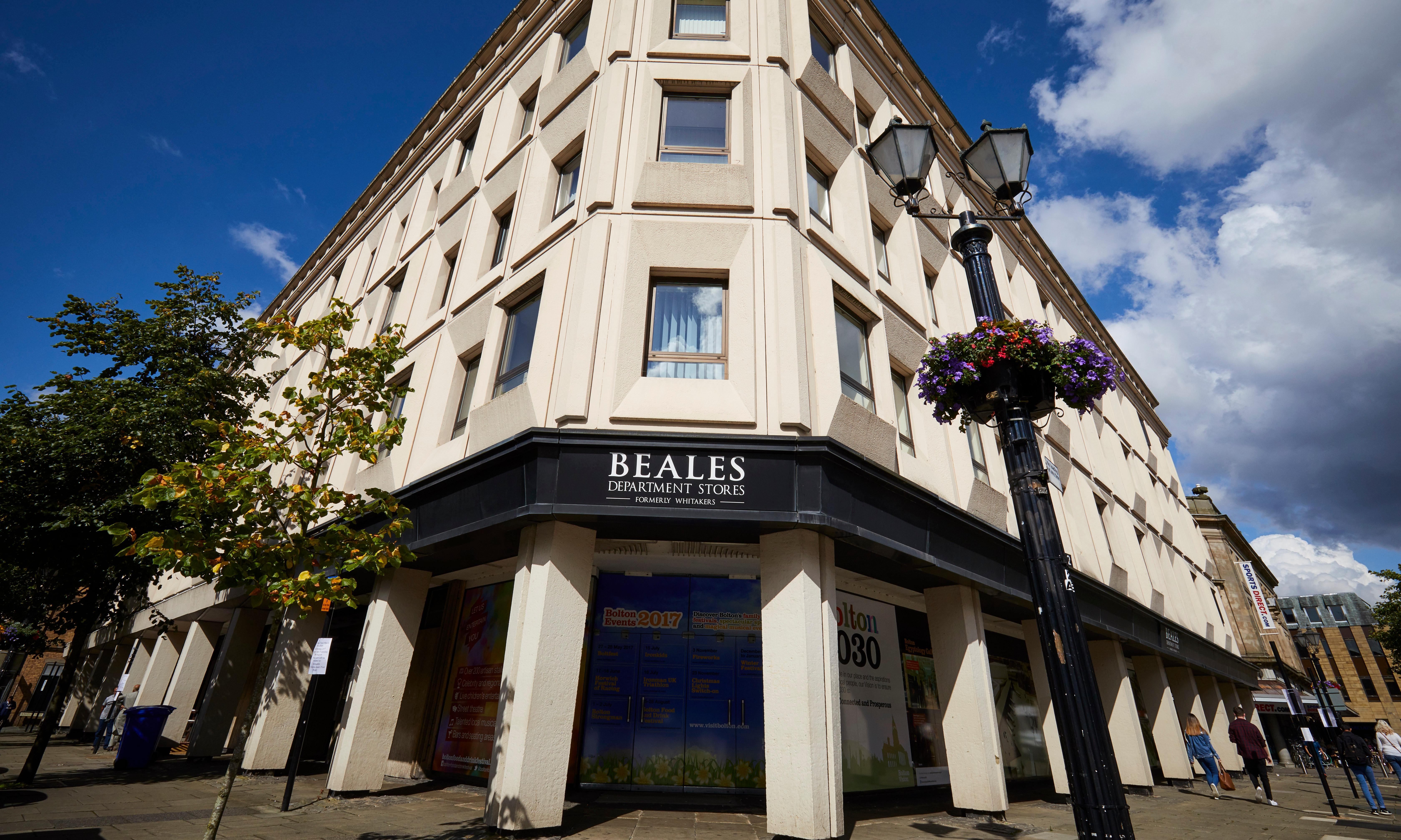 Beales department store chain close to collapse