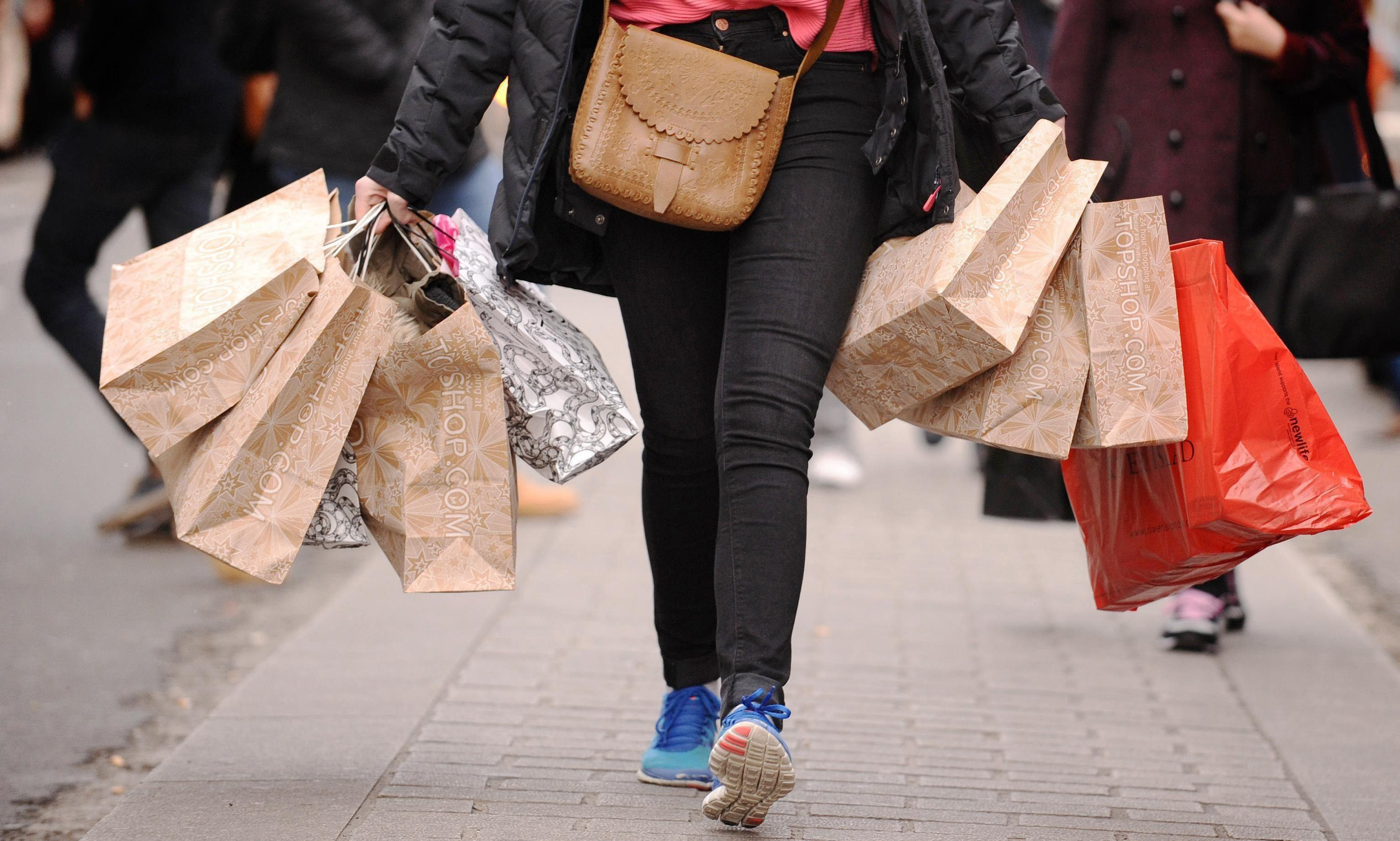 UK retail sales rebound as shoppers snap up clothing and footwear