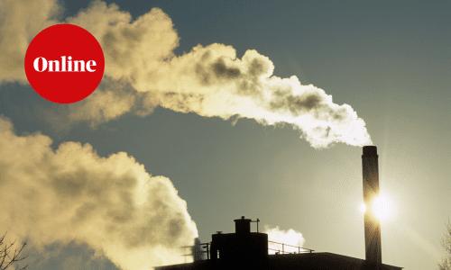 Smoking incinerator Greater Manchester UK
