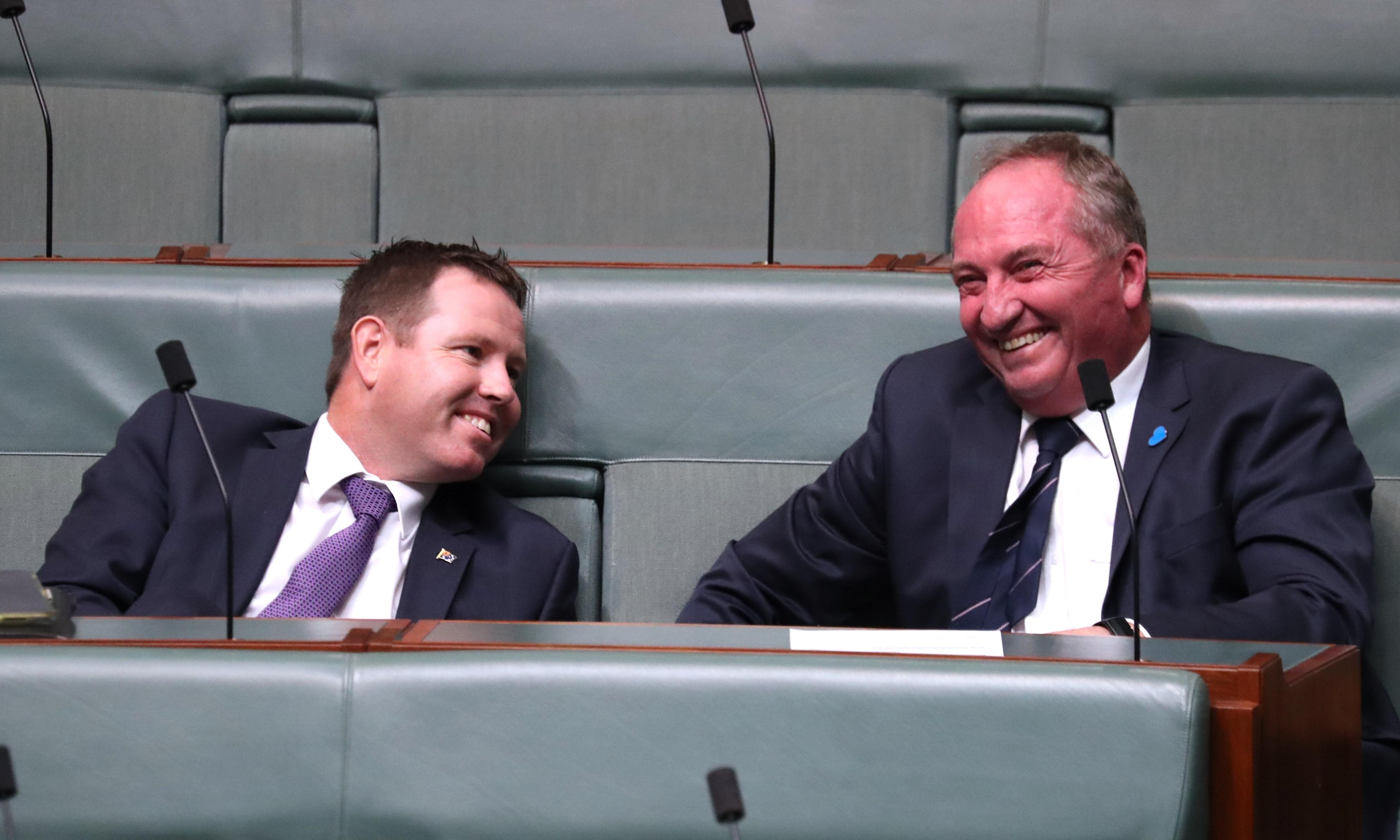 Scott Morrison may face second parliamentary defeat – this time by Nationals