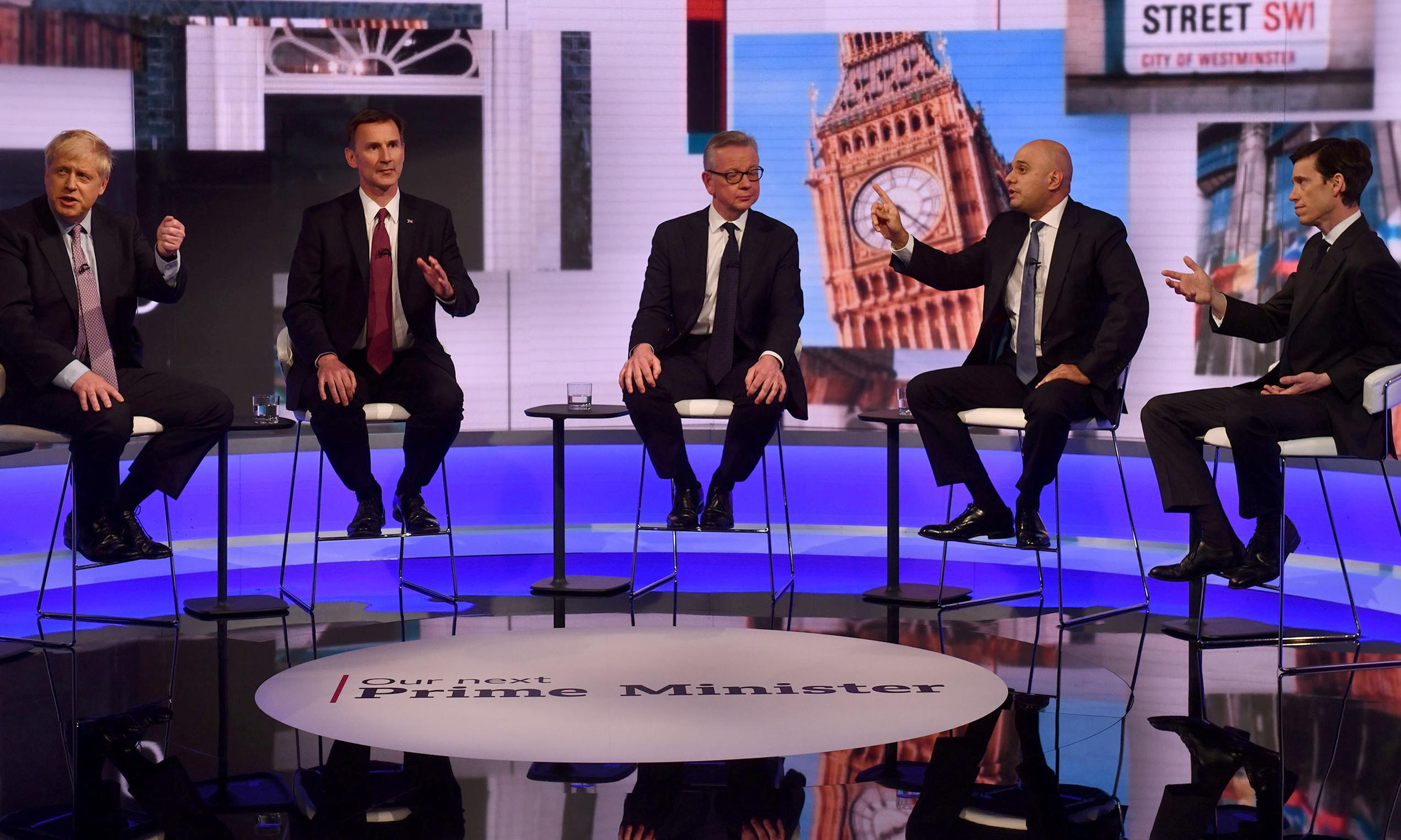 I asked the five candidates about climate in the TV debate. None has a clear plan