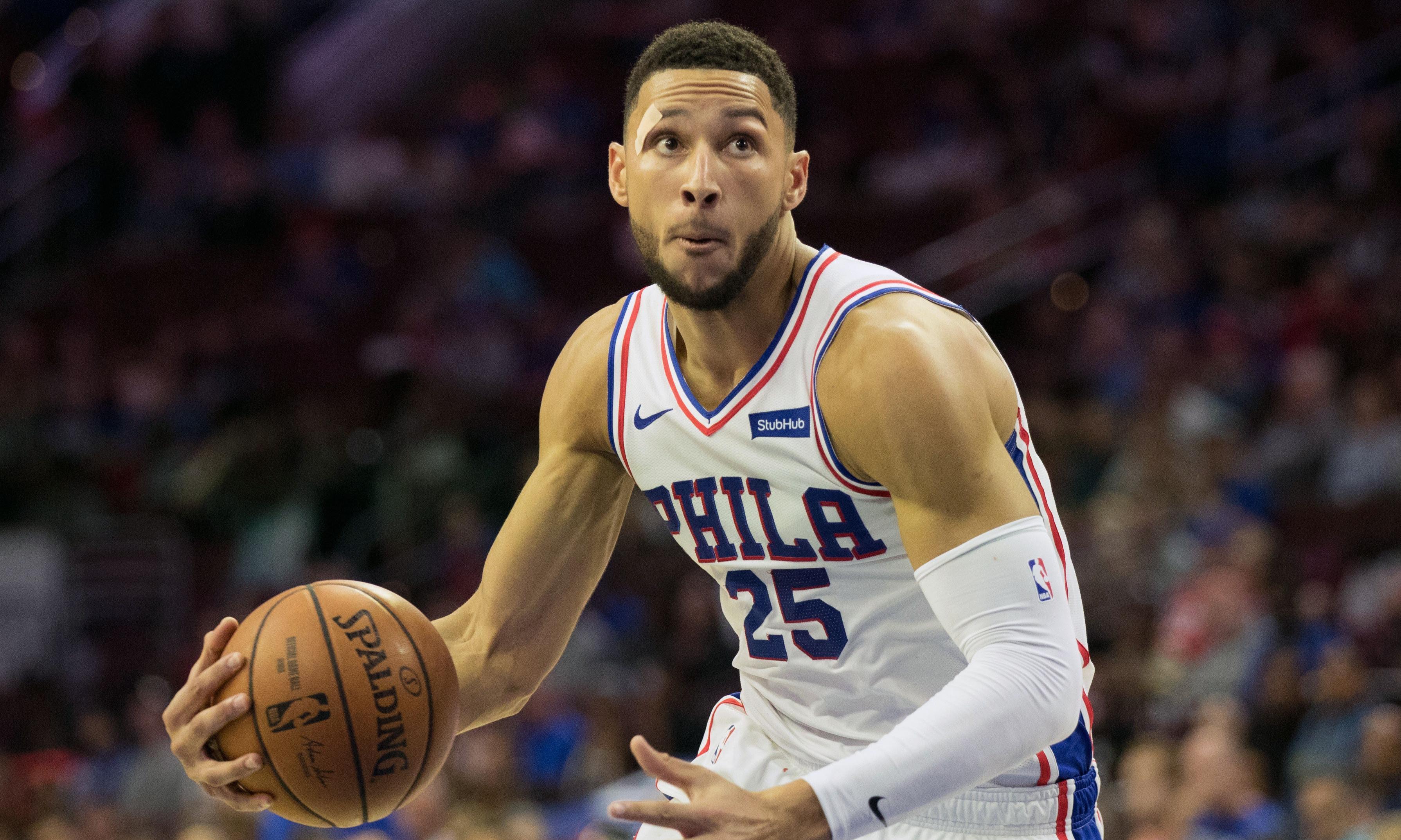 Simmons and Baynes lead Australian hopes into new NBA season