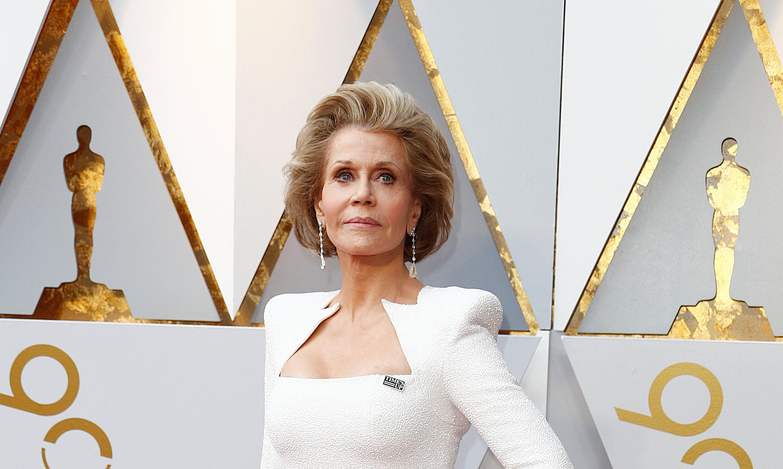 Oscar nominees: 'Women are missing stamp of approval' says Jane Fonda
