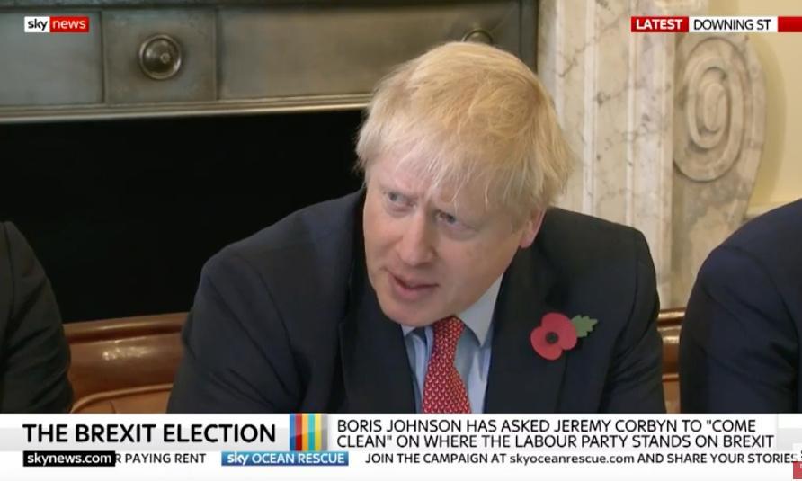 Labour complains to Ofcom about Sky's 'Brexit Election' slogan