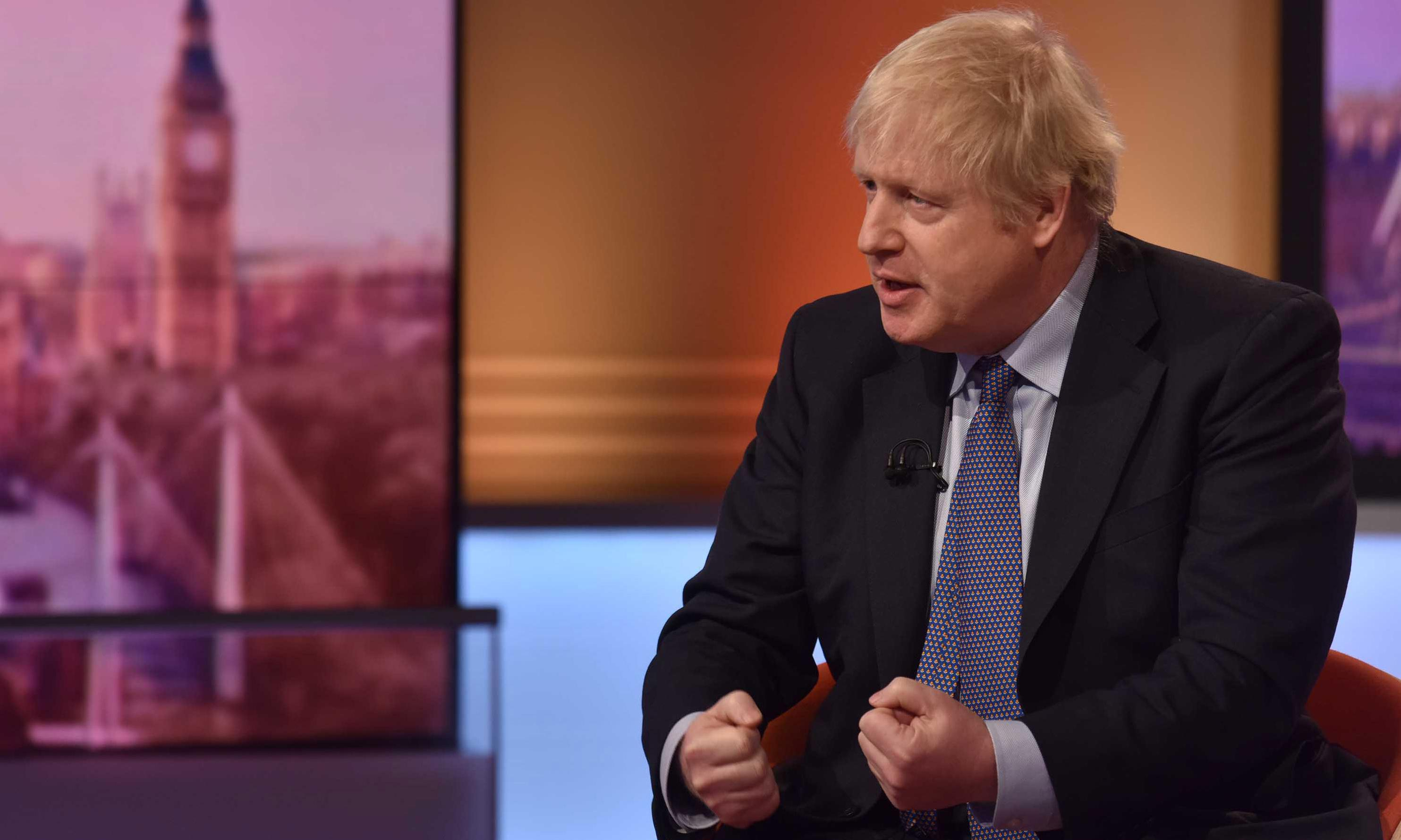 Boris Johnson: a one-trick pony straight out of the political wild west