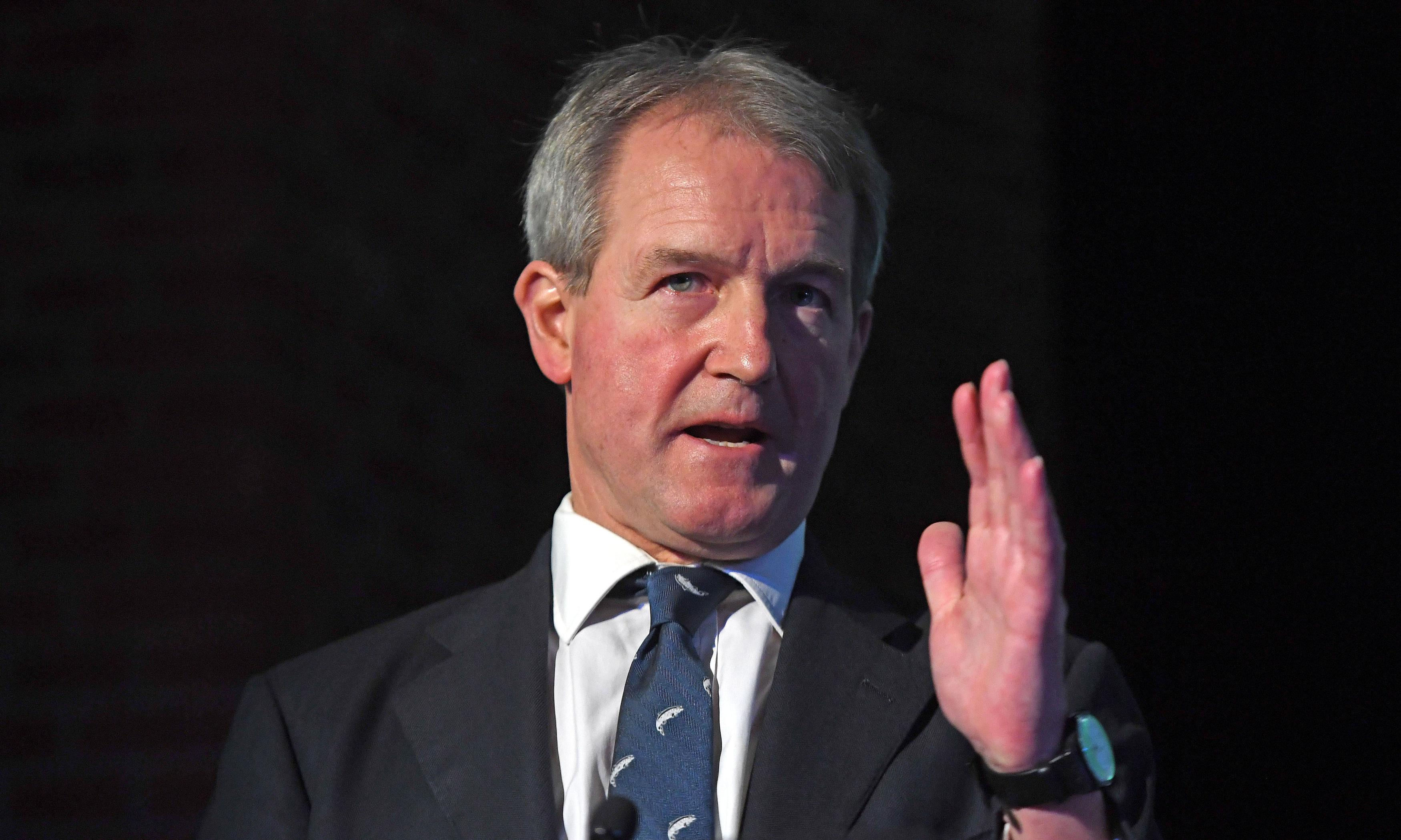 Owen Paterson trips worth £39,000 funded by unknown donors