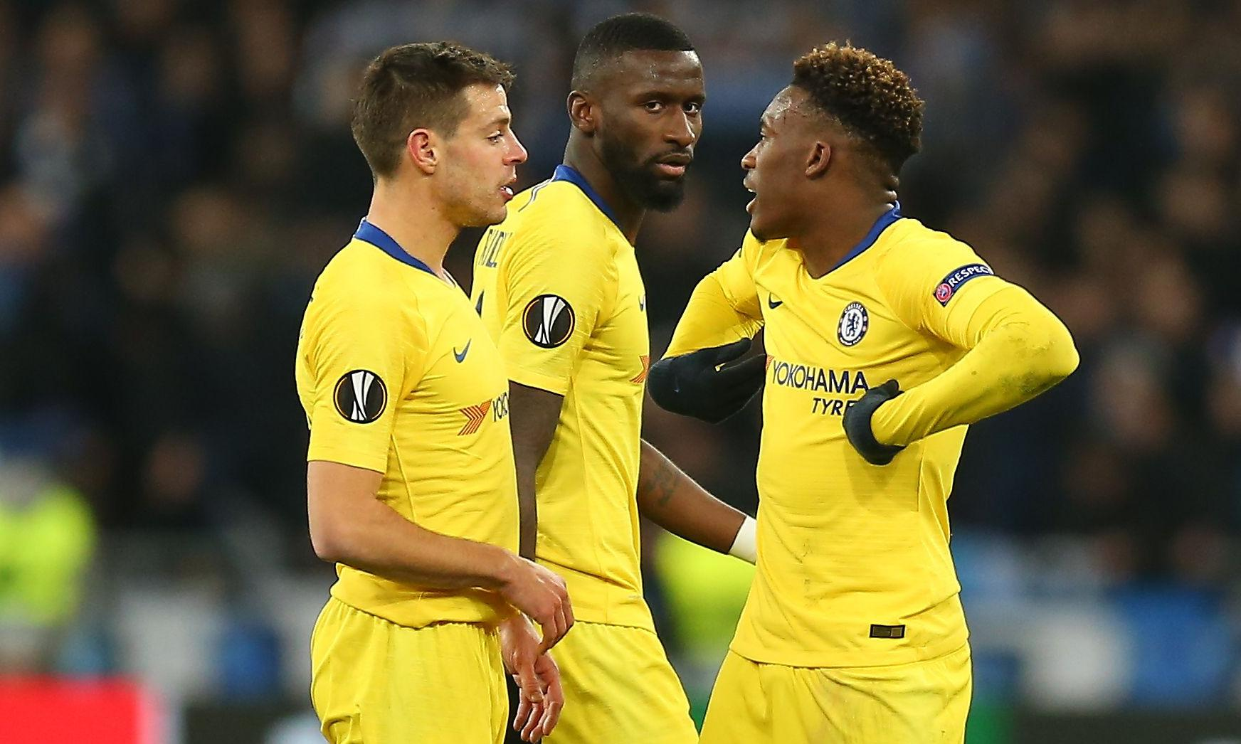 Chelsea complain to Uefa over racist abuse of Hudson-Odoi in Kyiv