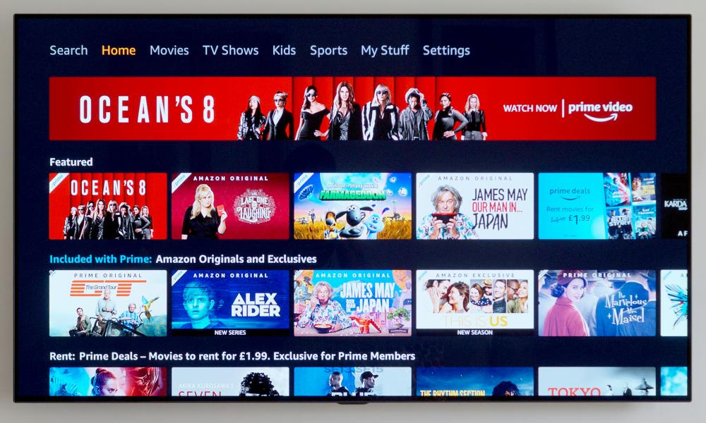 best streaming service - amazon prime video
