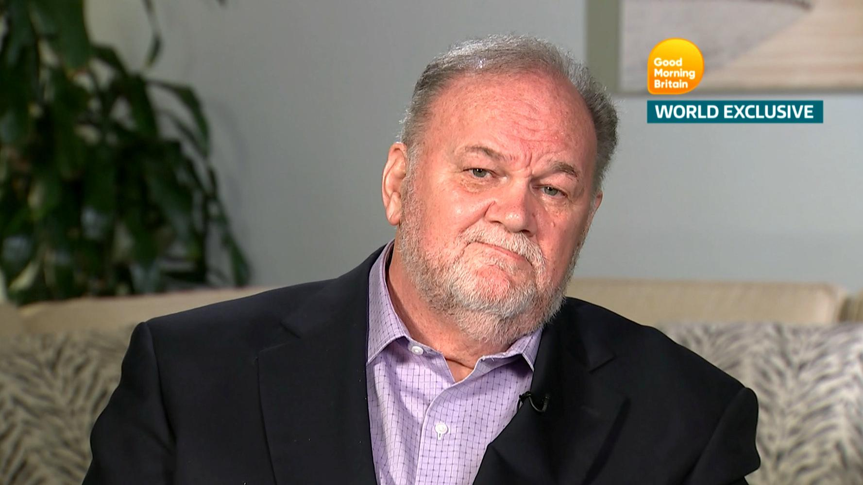 Meghan's father Thomas Markle denies doing 'trashy things' in TV interview