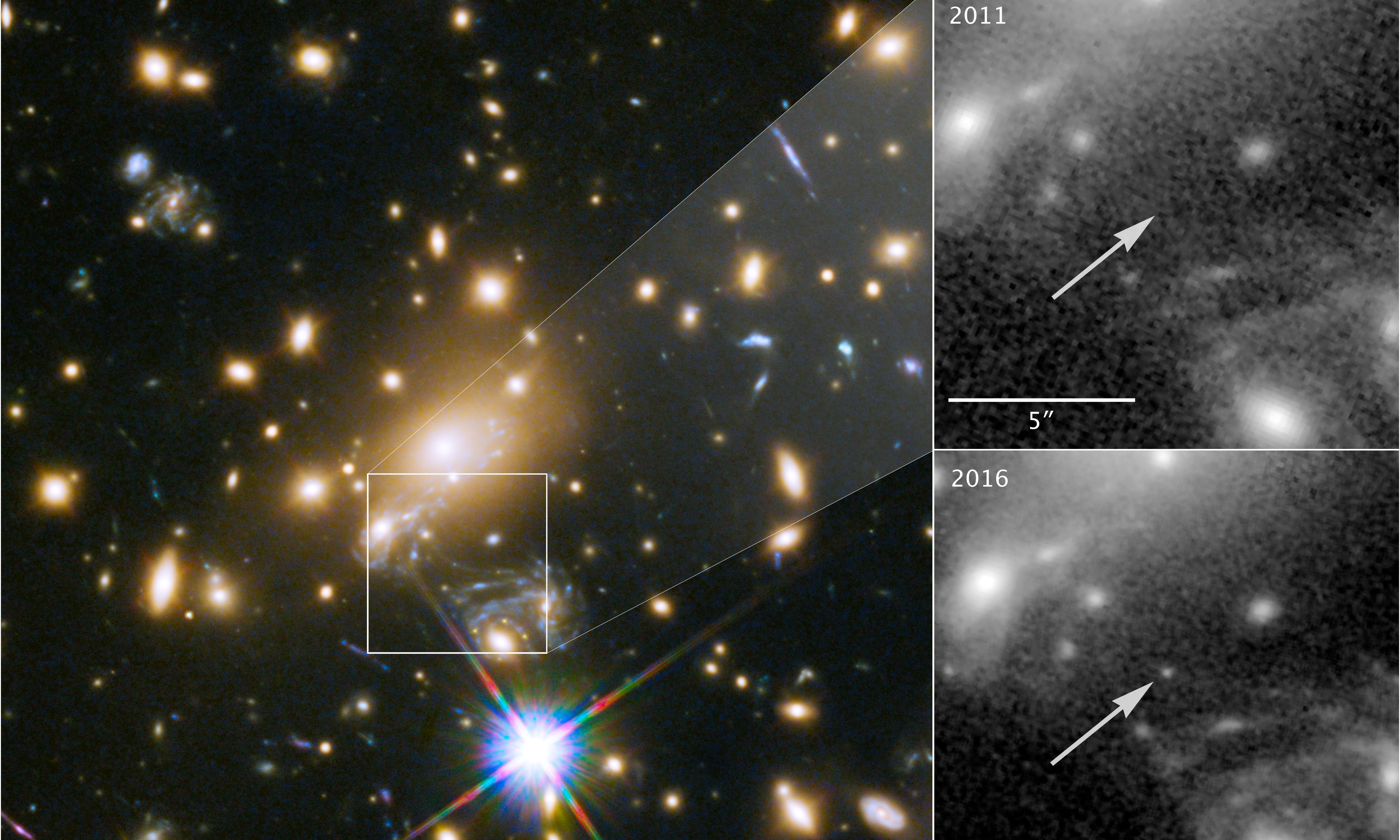 Hubble space telescope captures image of most distant star ever seen