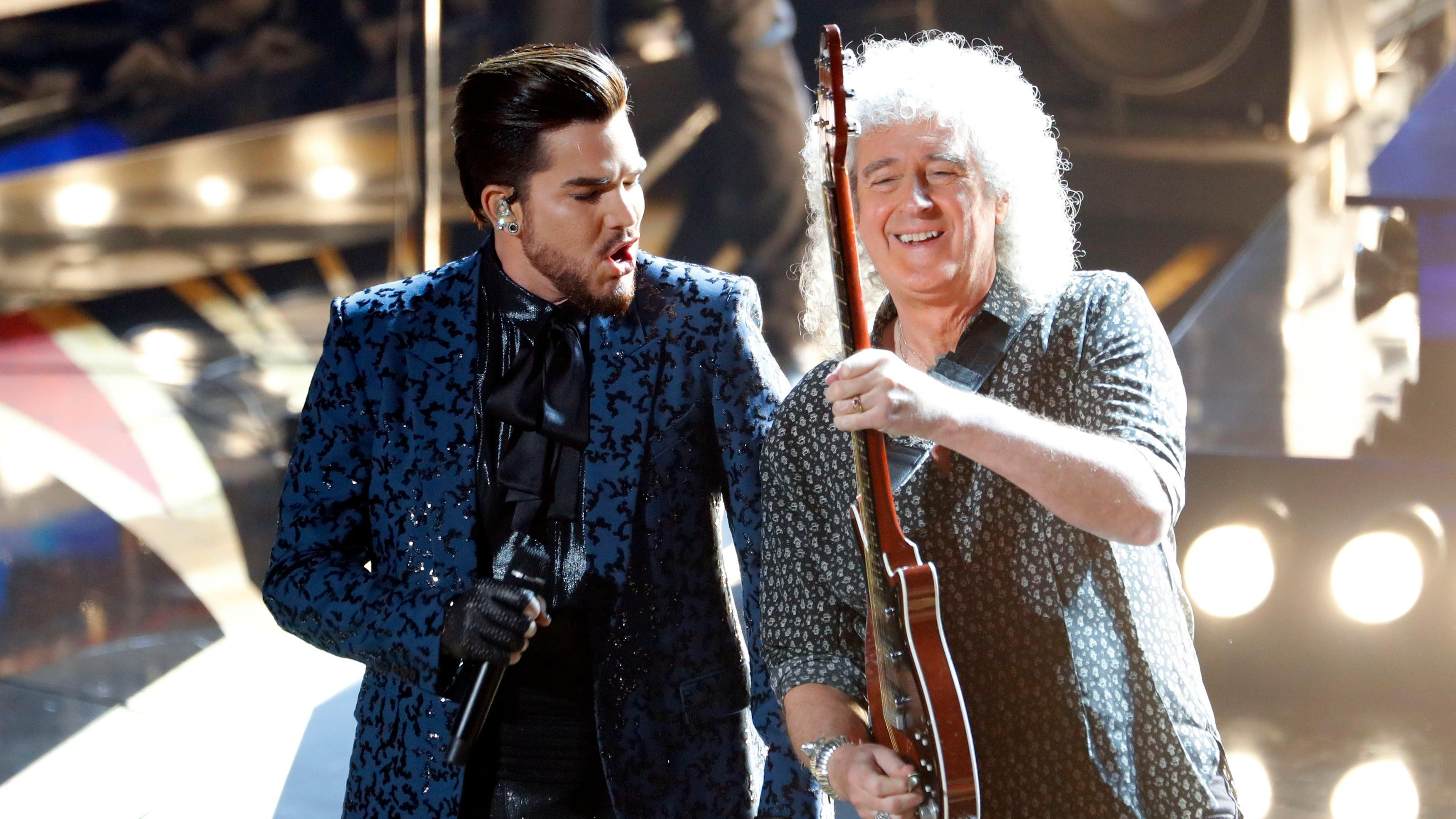 Queen divide audience at Oscars ceremony