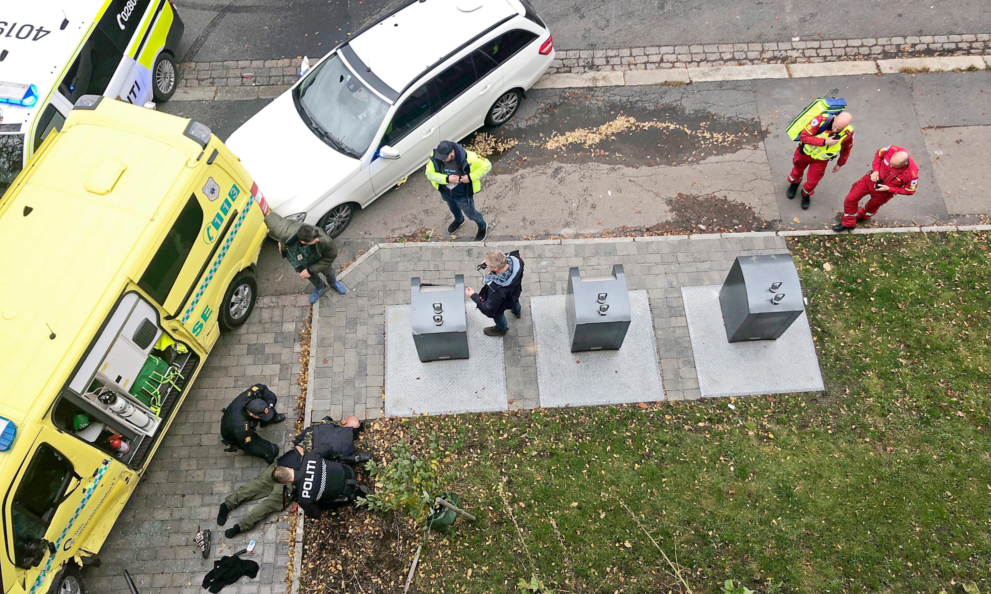 Several injured as armed man hijacks ambulance in Oslo