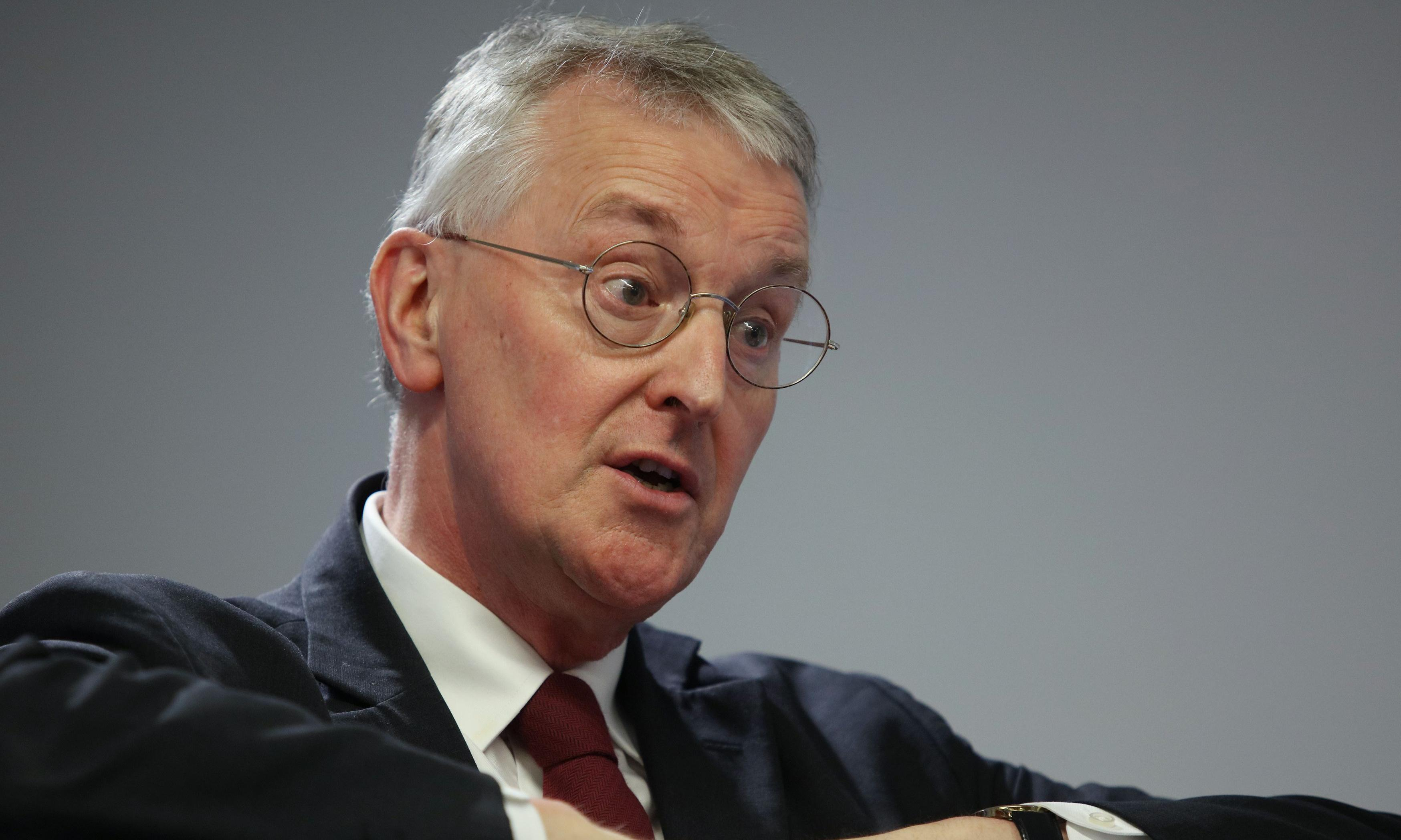 Labour's Hilary Benn withdraws amendment to May's Brexit deal