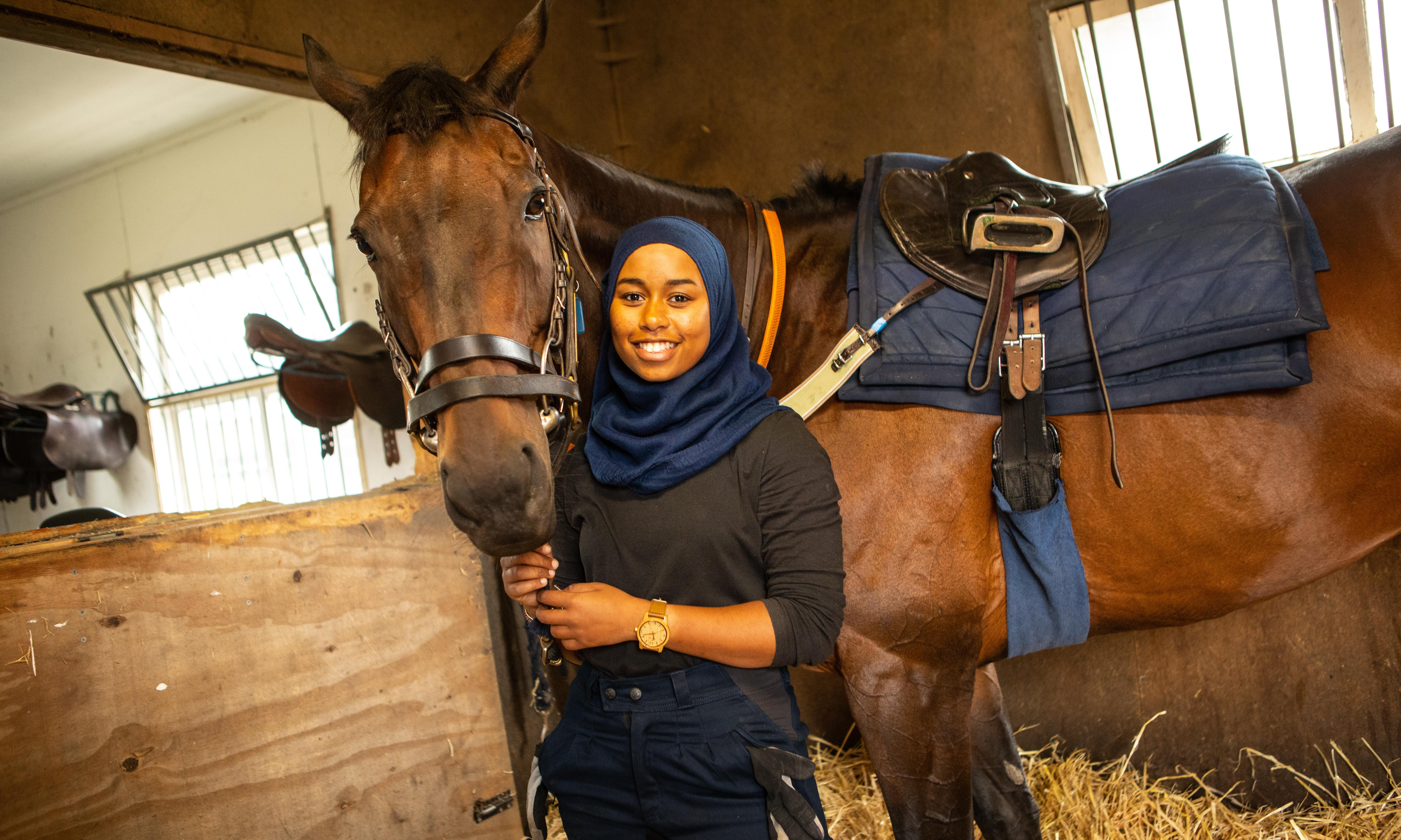 From Brixton horse club to Glorious Goodwood for pioneering student