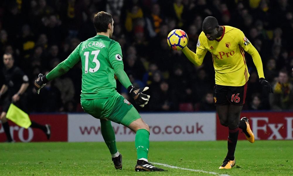 You've got to hand it to Watford's Abdoulaye Doucoure.