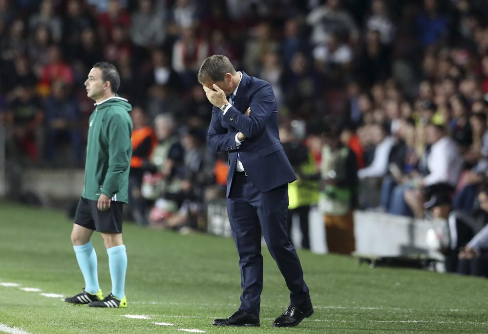 Frank de Boer couldn't get it right at Inter Milan this season