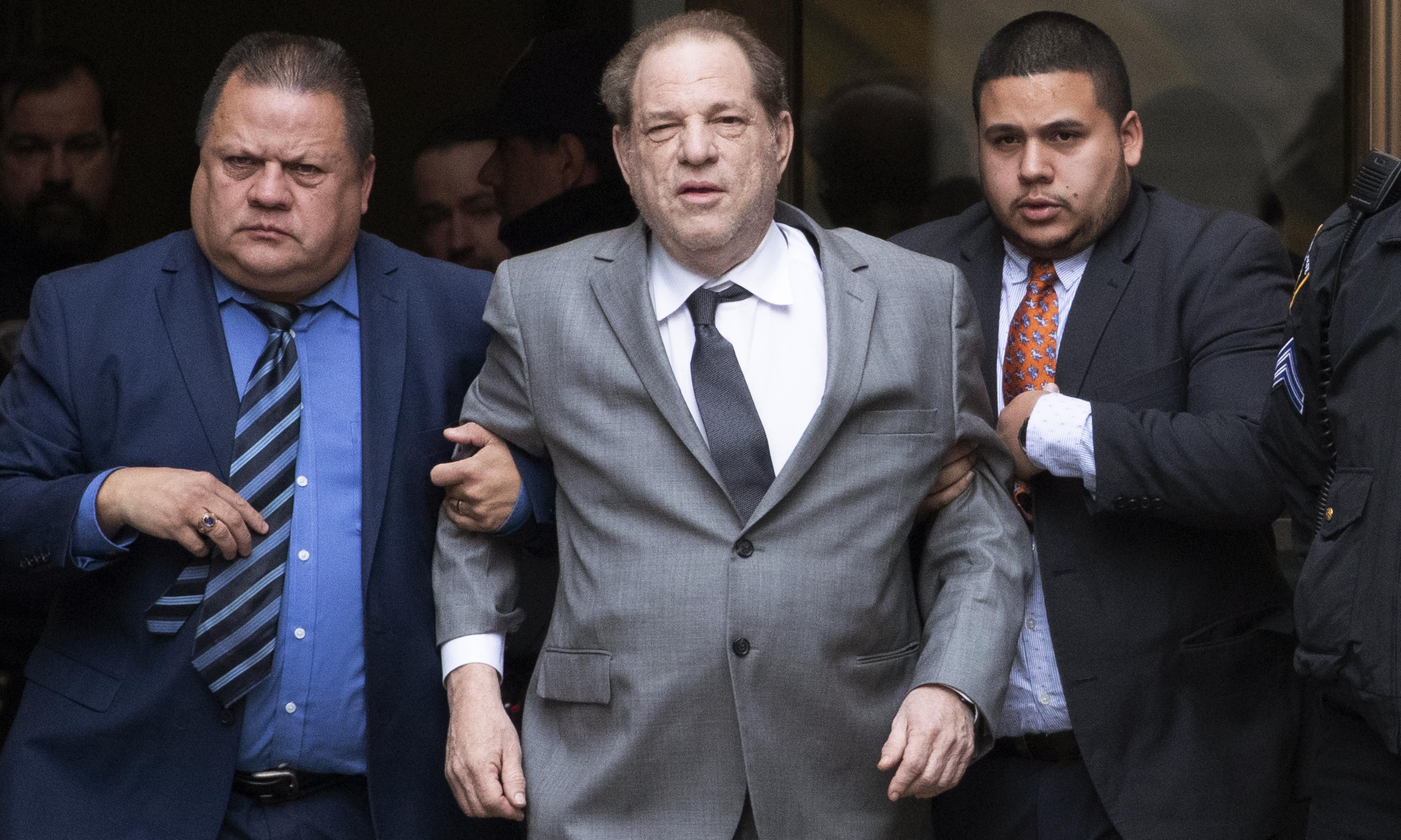 Harvey Weinstein has violated bail by mishandling ankle bracelet – prosecutor