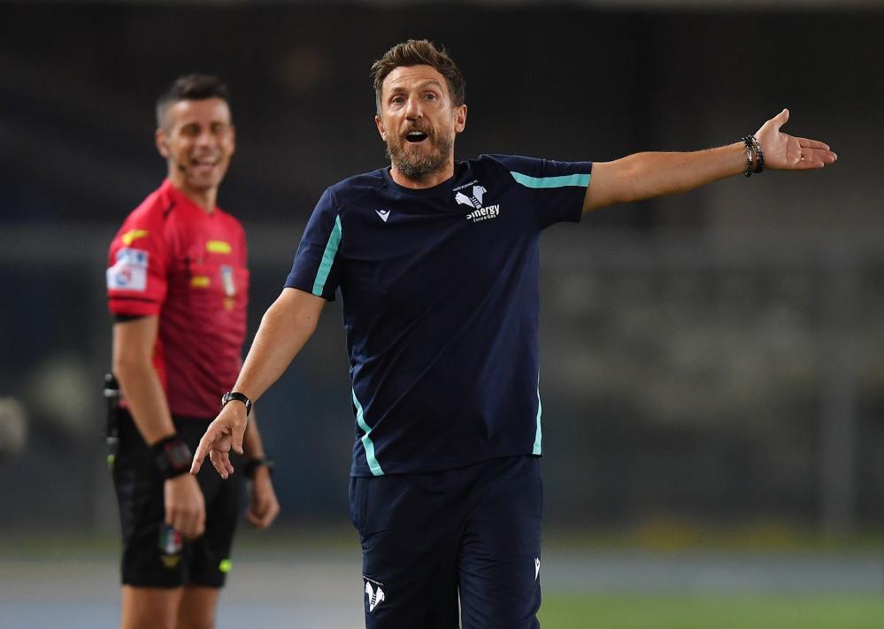 Eusebio Di Francesco during his brief spell at Verona.