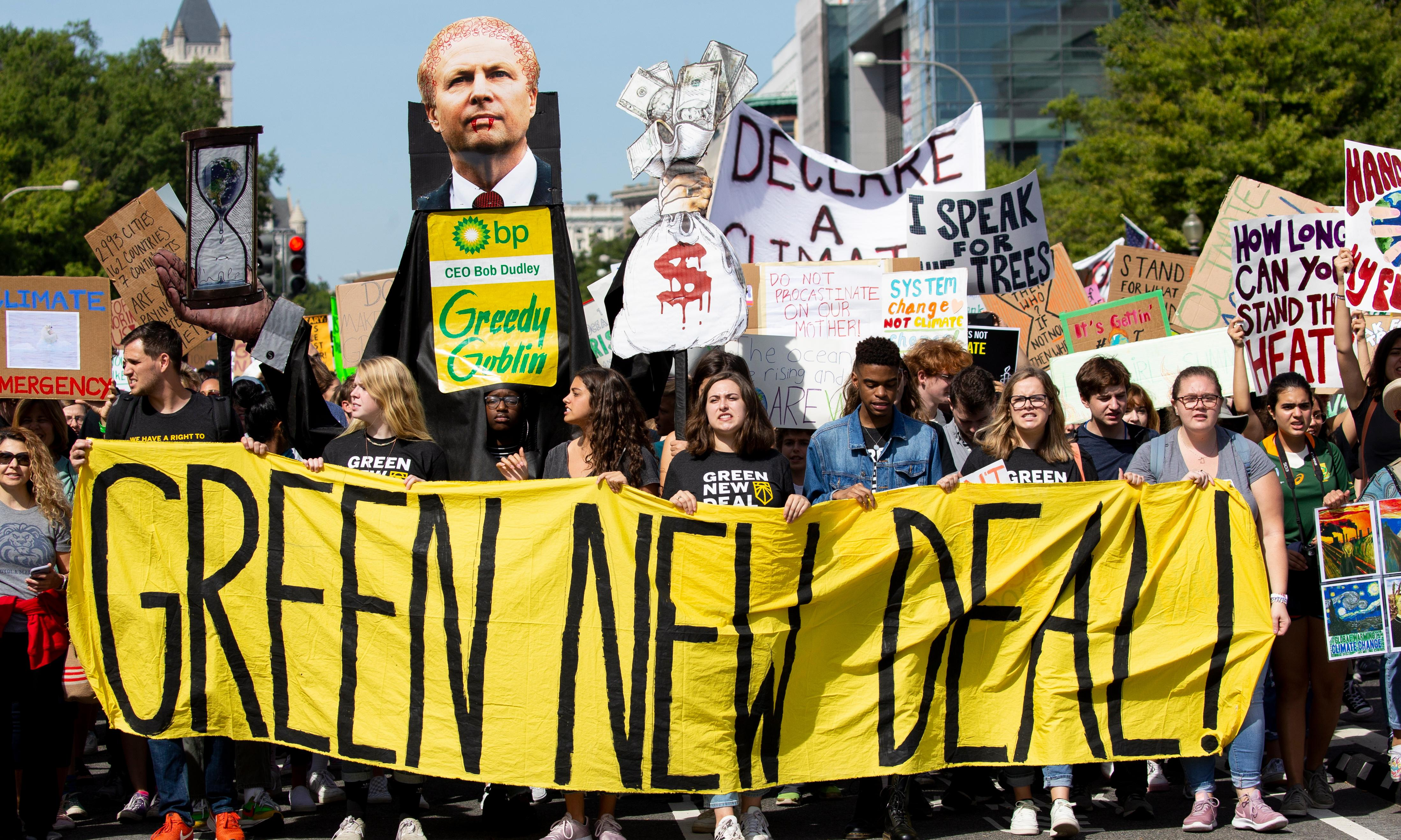 A recession is coming. When it does, we need to demand a Green New Deal