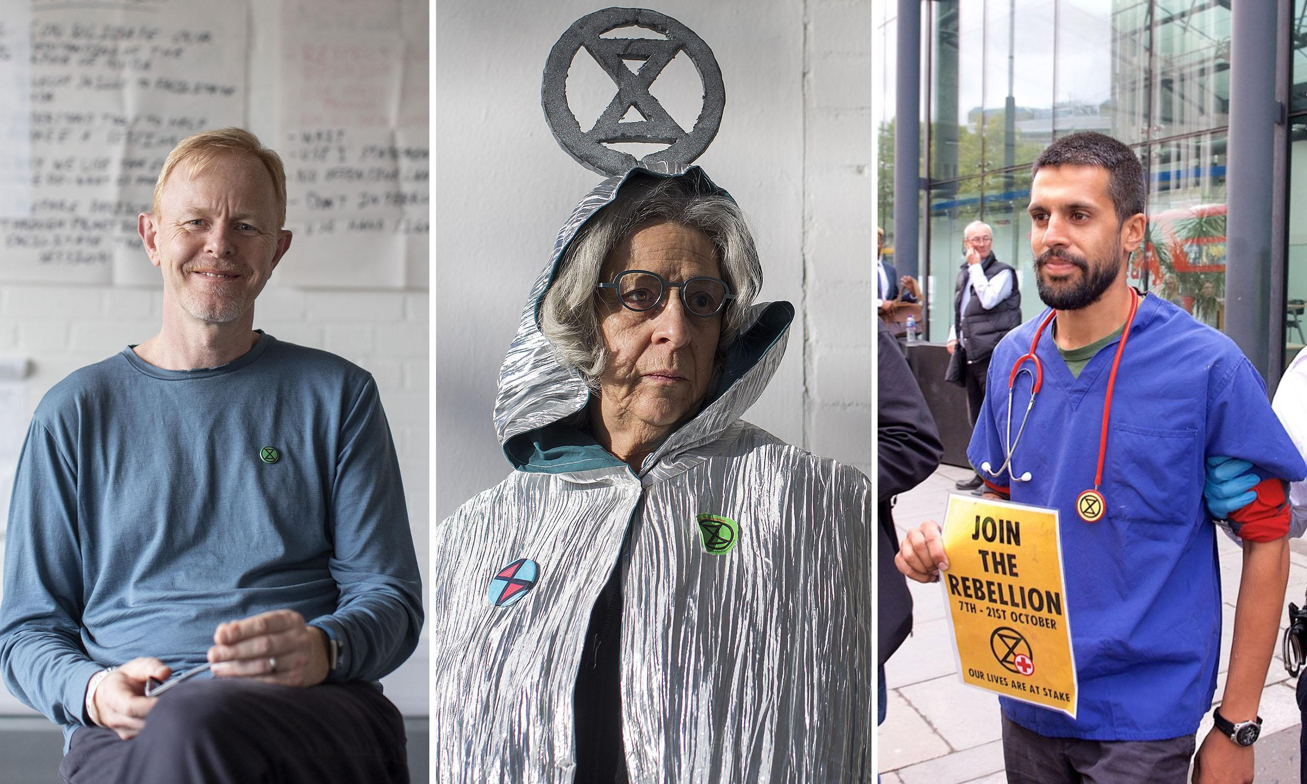 The doctor and banker who quit to join Extinction Rebellion: 'You have to do what is right'