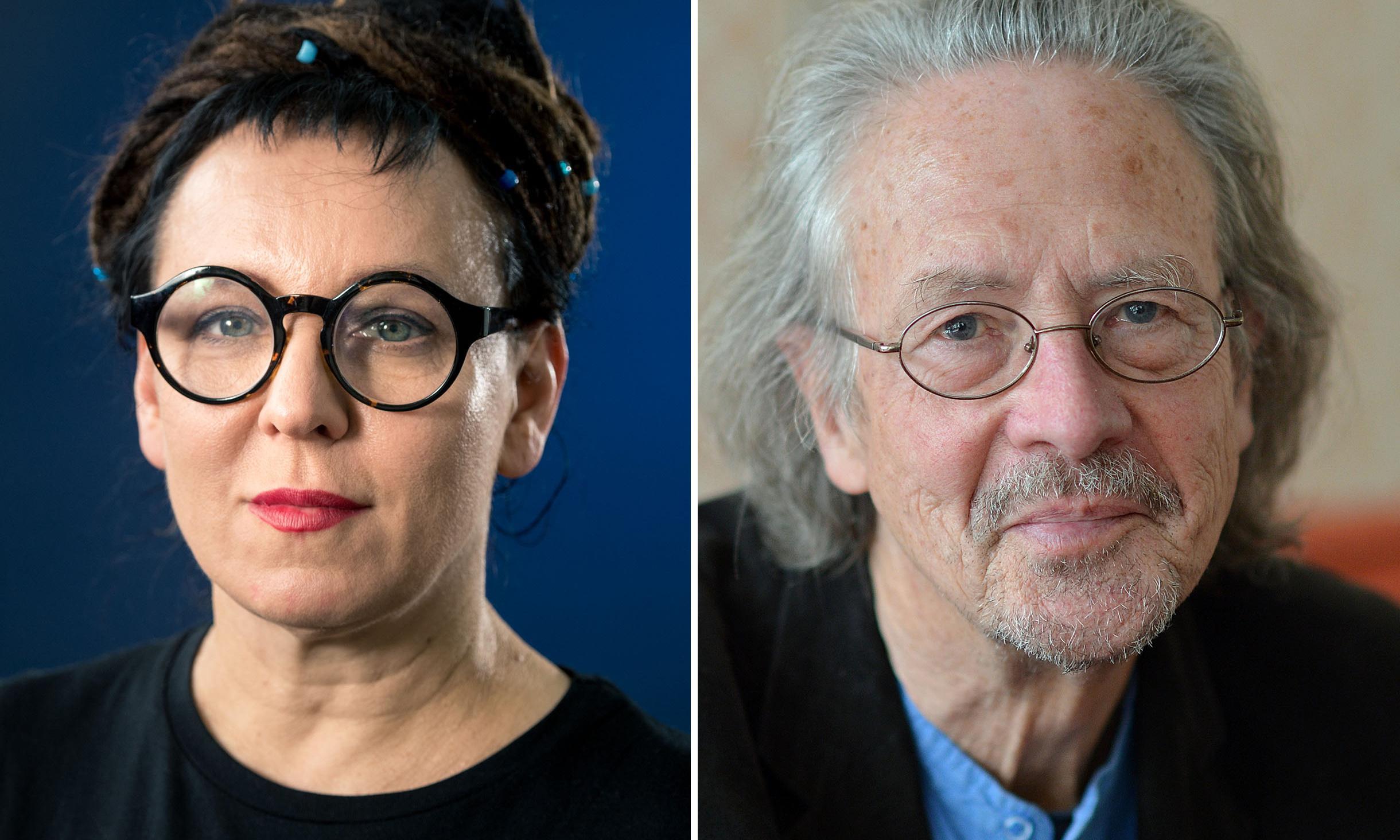 Olga Tokarczuk and Peter Handke win Nobel prizes in literature