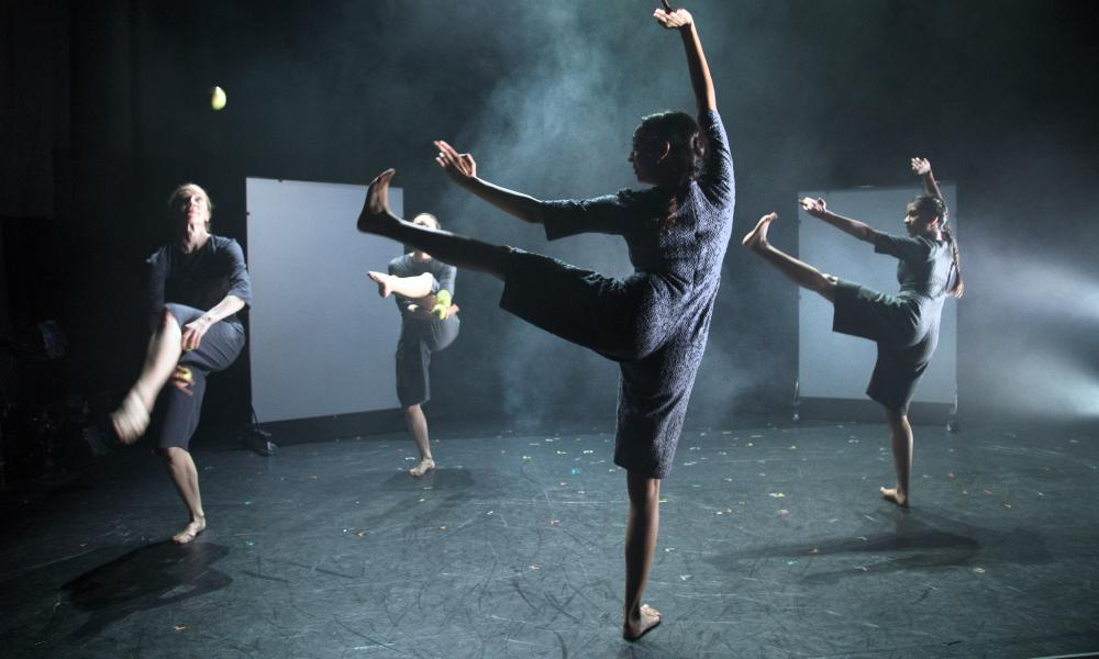 Choreographer, Seeta Patel explores links between dance and circus.