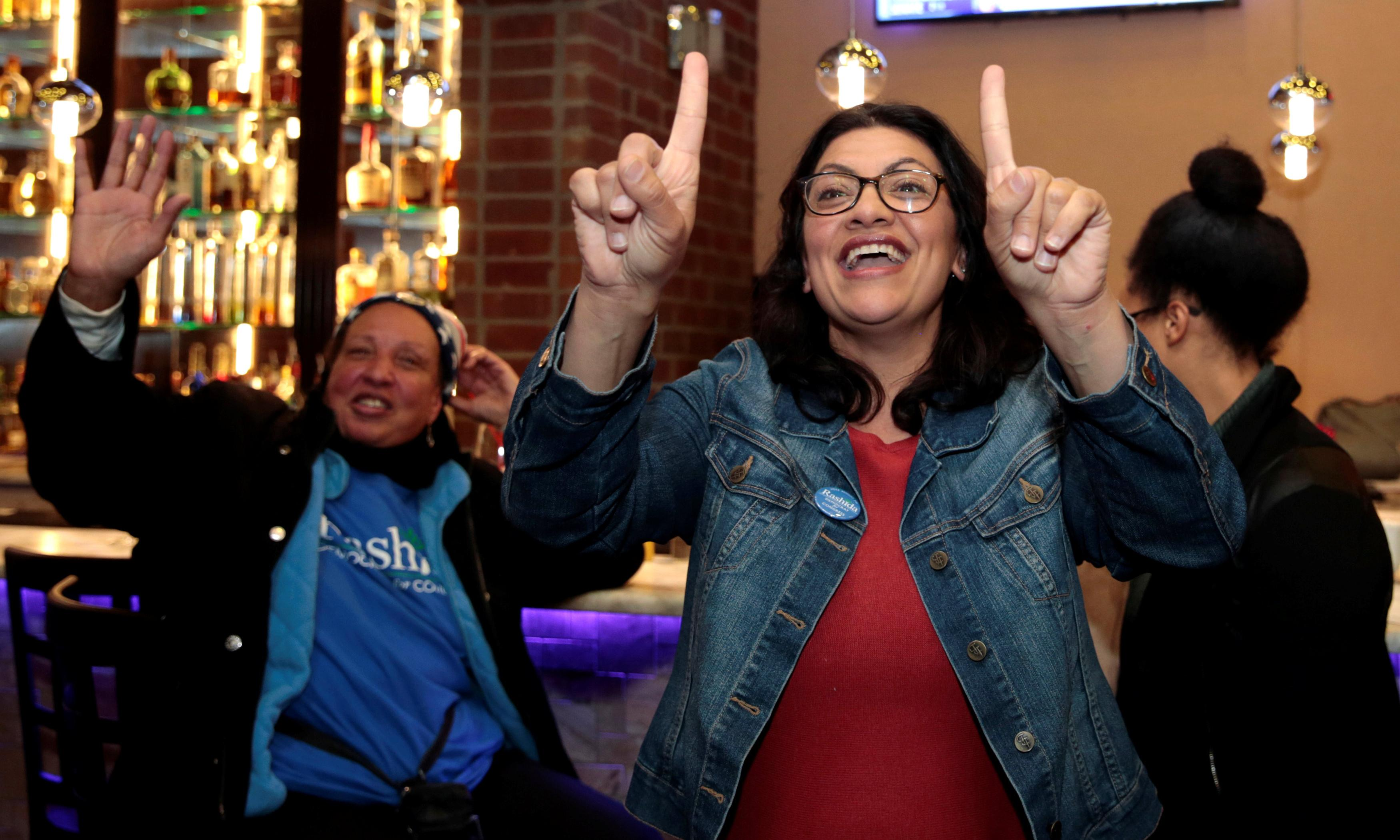 A night of firsts: the candidates who made history in the 2018 midterms