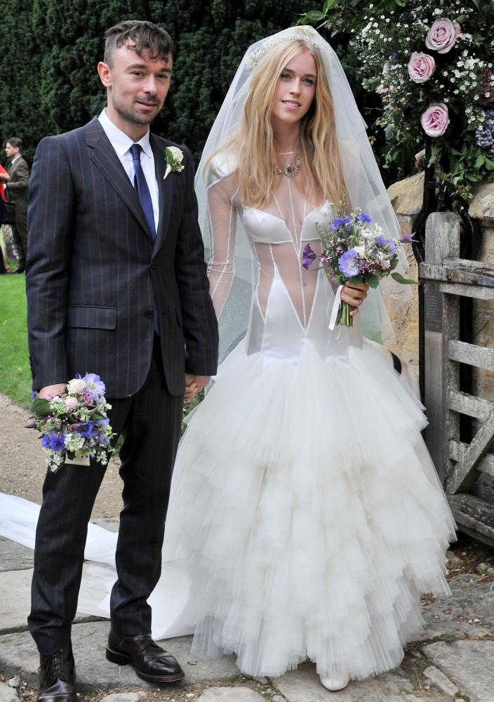 Wedding of Lady Mary Charteris and Robbie Furze