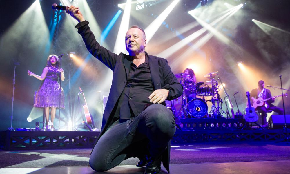 Simple Minds performing at London Palladium in May 2017.