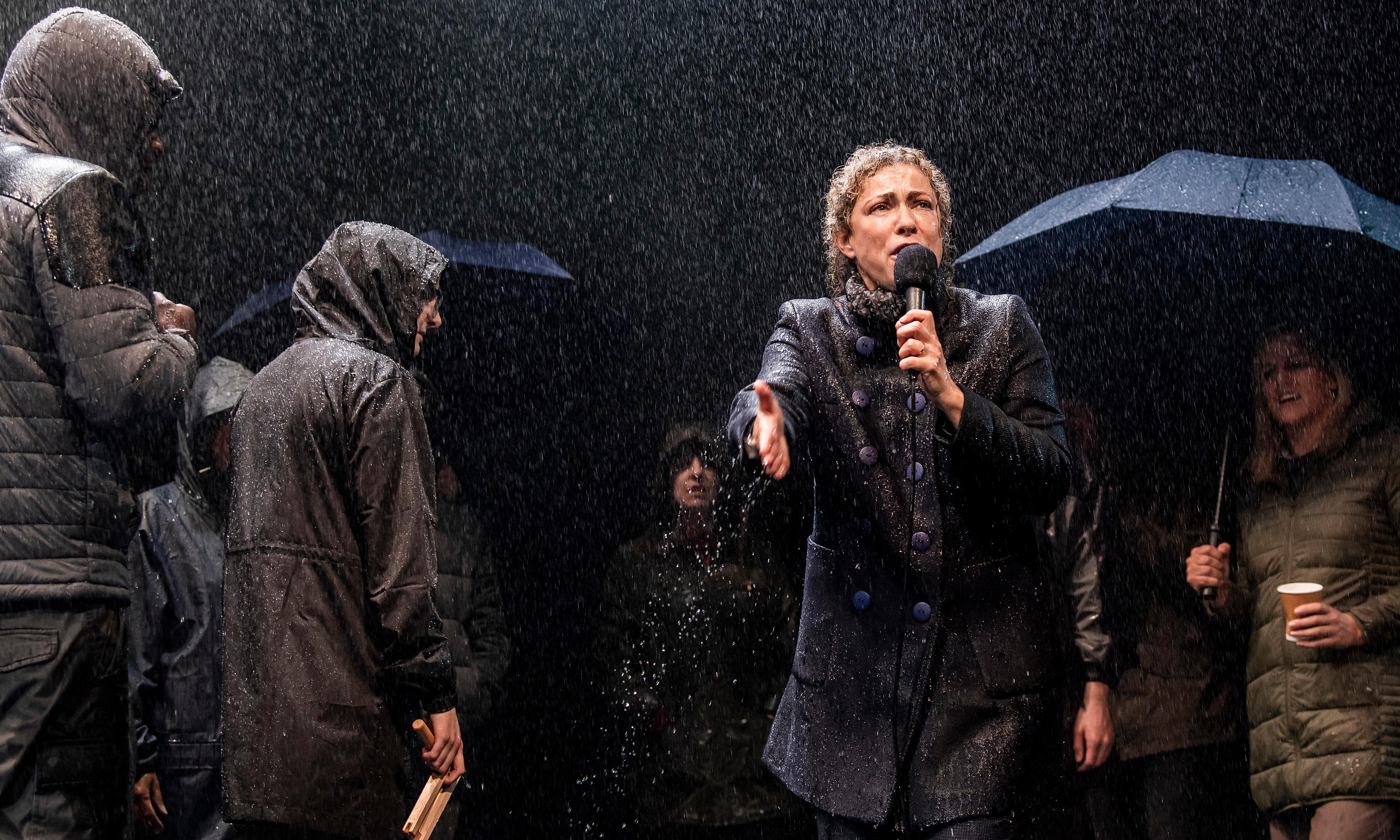 An Enemy of the People review – Ibsen told as Scandi-noir with Alex Kingston