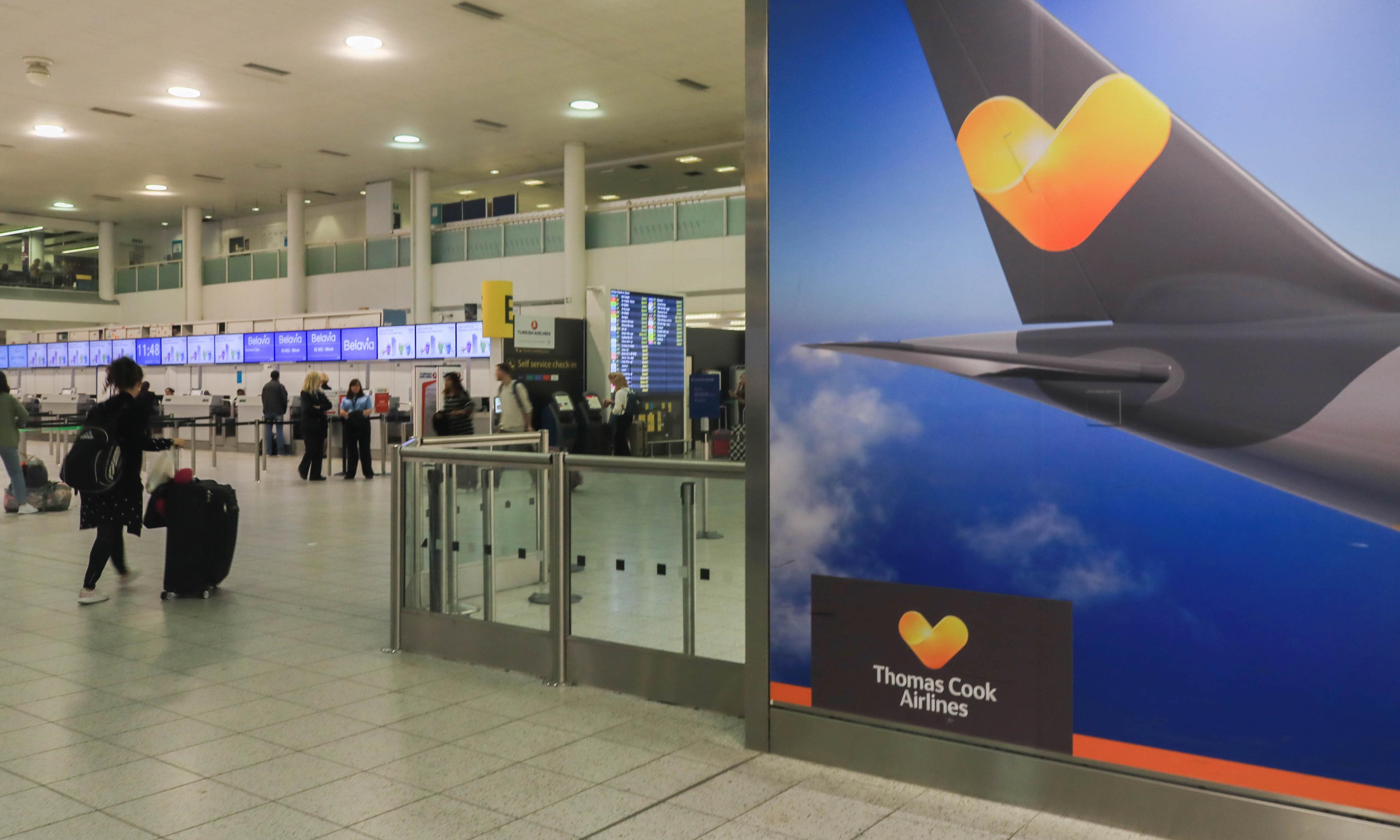 Thomas Cook travellers still boarding as clock ticks down on talks