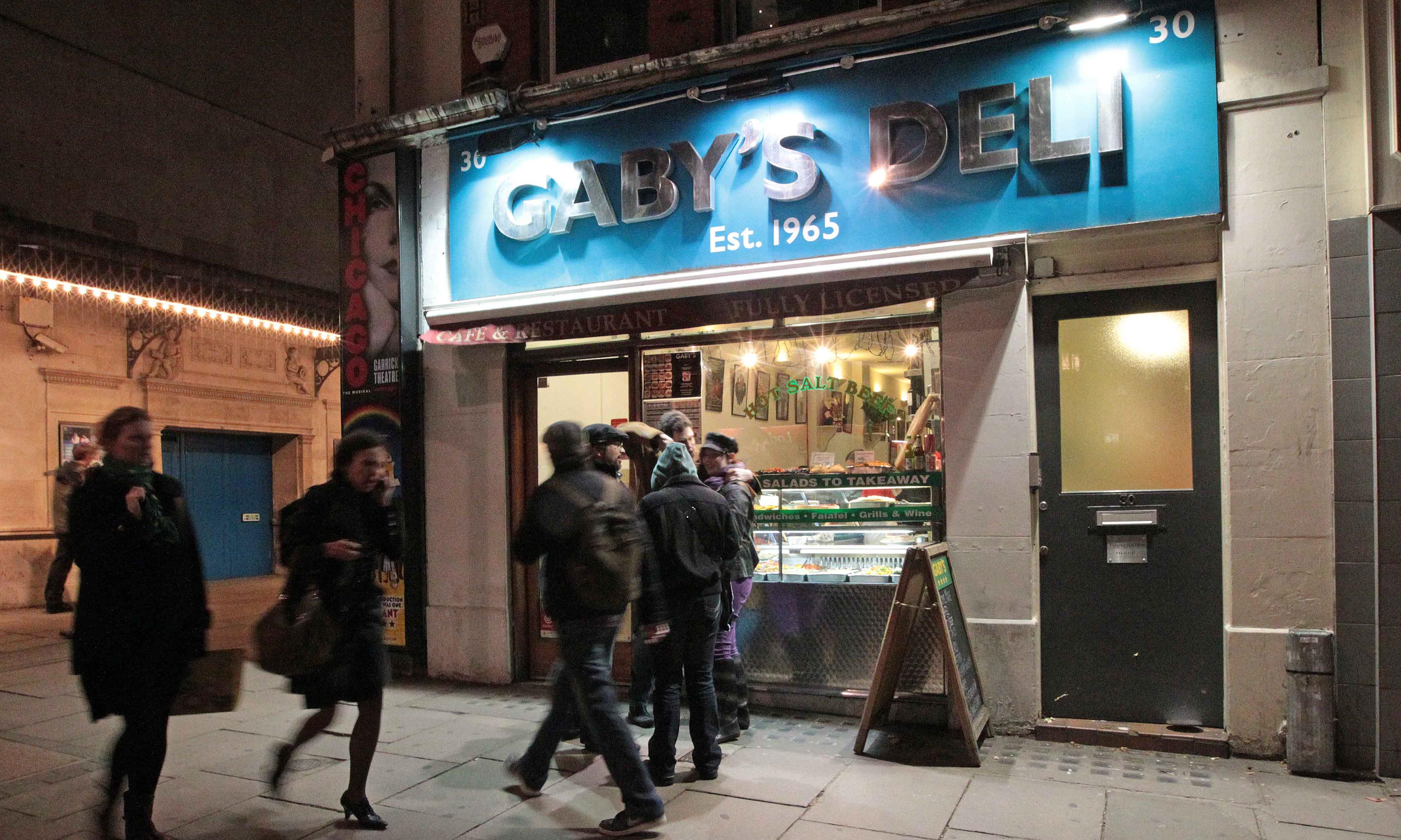 More than 50 years on, central London Jewish deli Gaby's is to close