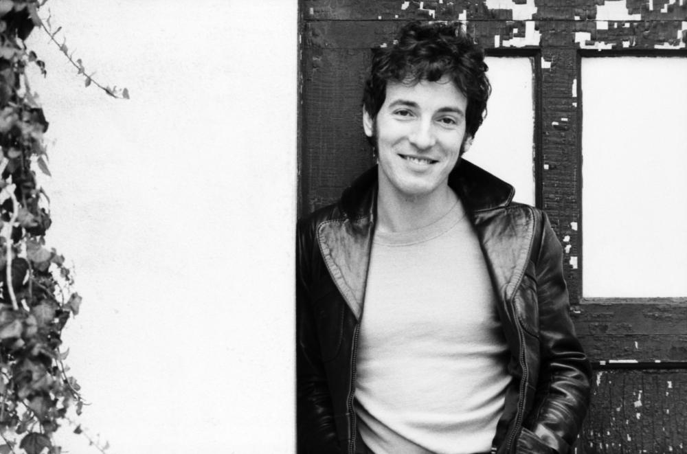Bruce Springsteen photographed in New Jersey, October 1979.