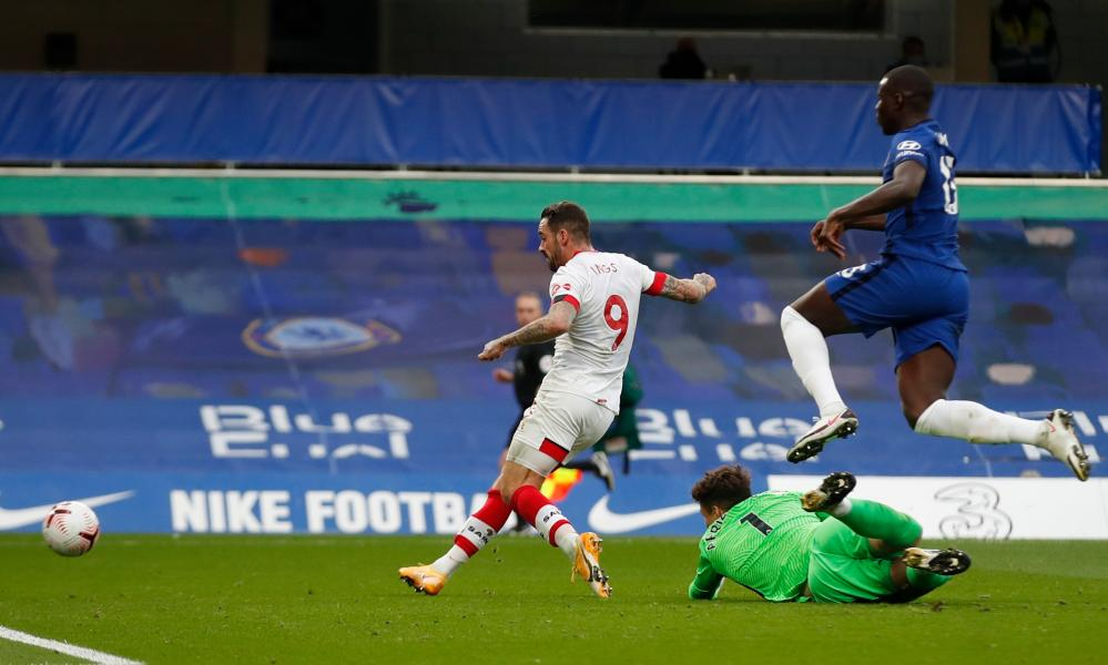 Ings rounds the keeper before scoring