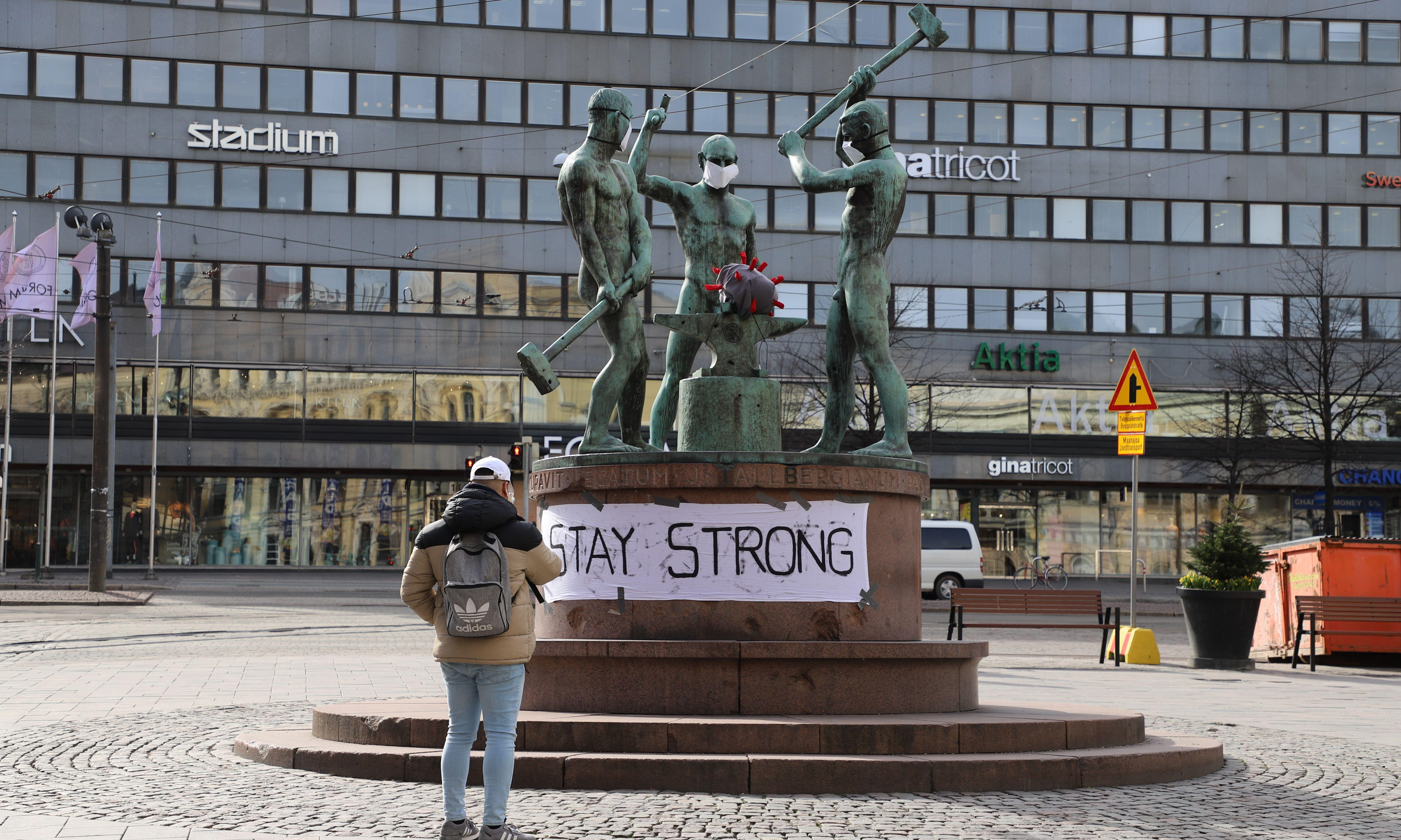 Finland enlists social influencers in fight against Covid-19