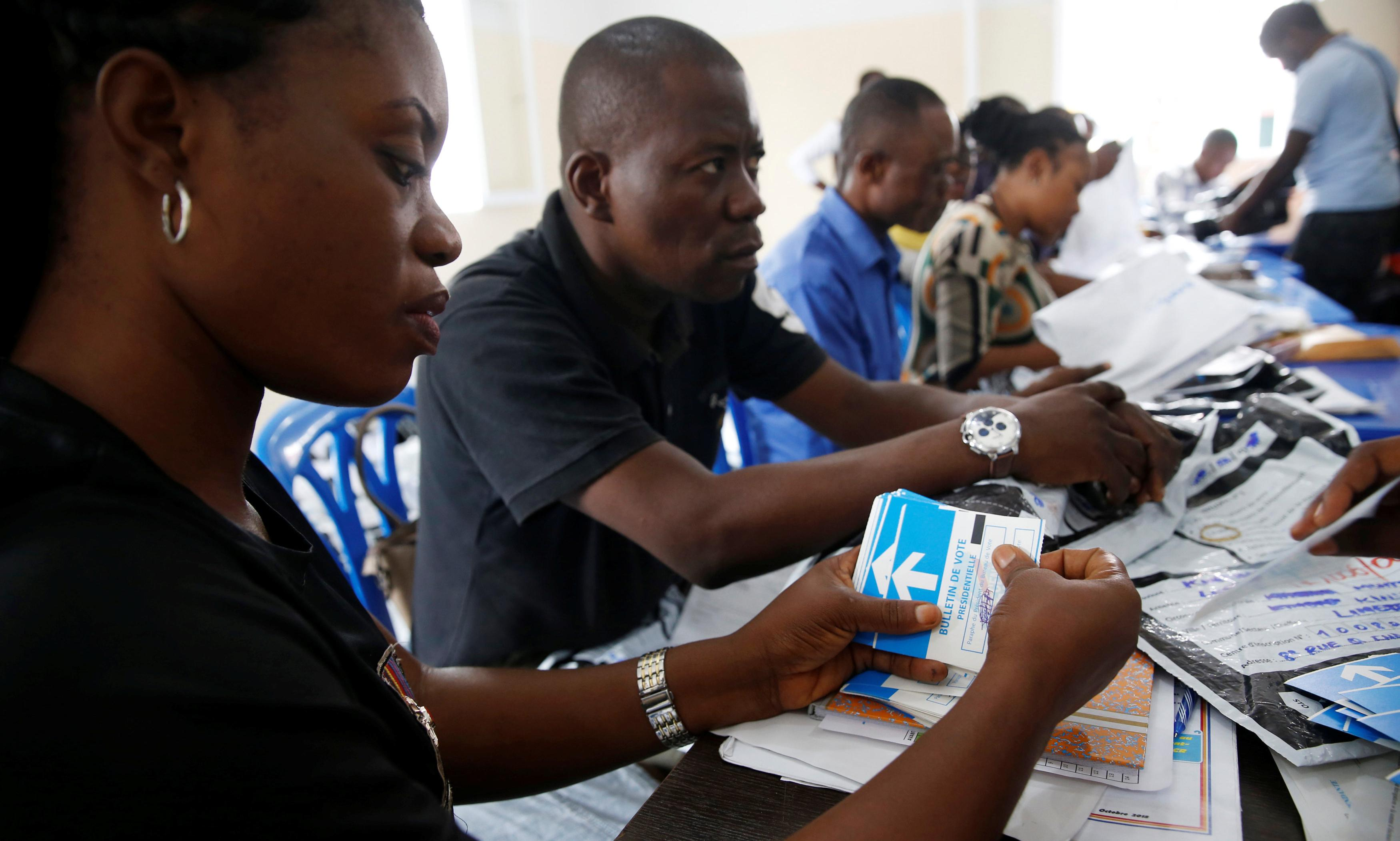 Congo's Catholic church says it knows election's clear winner