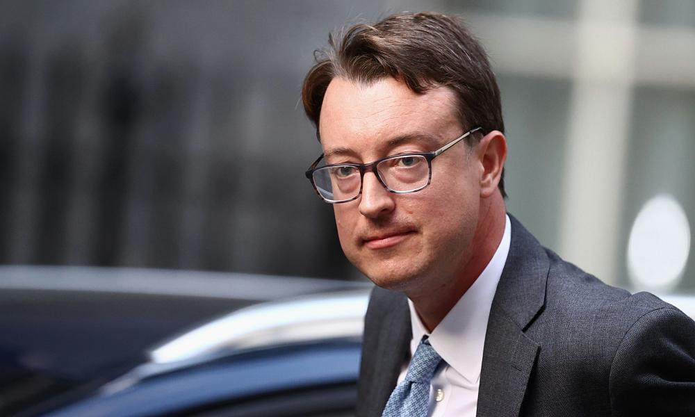 Britain's new chief secretary to the Treasury Simon Clarke