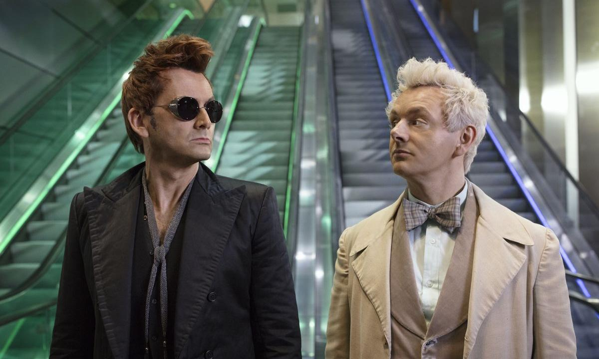 Good Omens isn't funny? That's hilarious