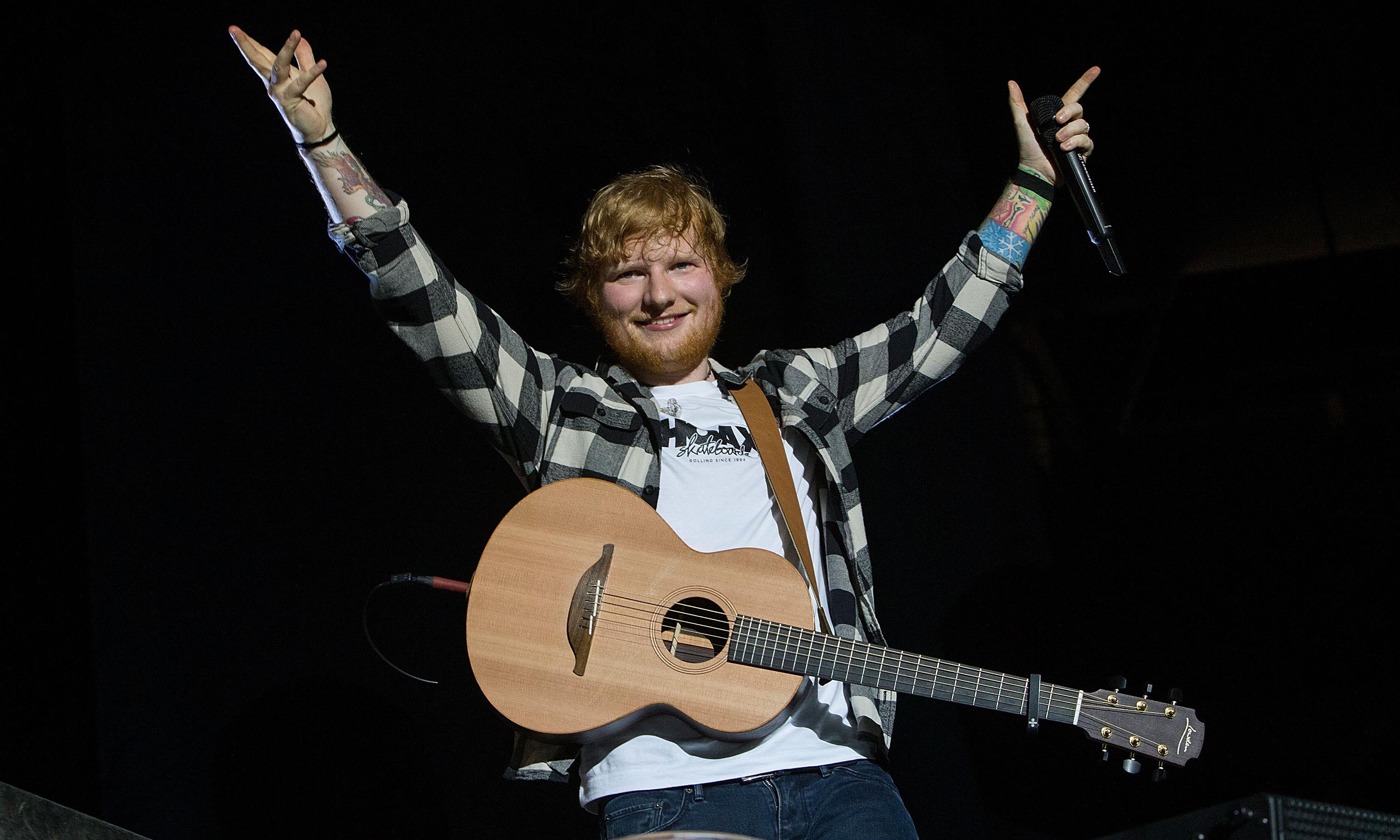 Ed Sheeran's battle to build his own pub, pond and private beach