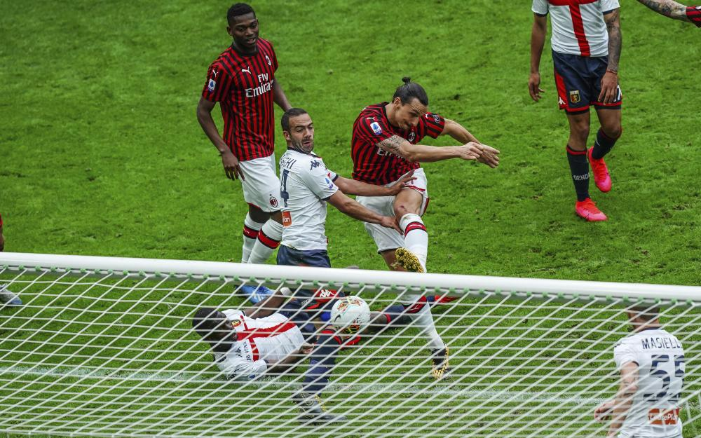 Zlatan Ibrahimovic helped bring goals, confidence and old-headed nous to Milan.