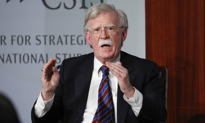 John Bolton, key figure in Trump impeachment inquiry, signs book deal