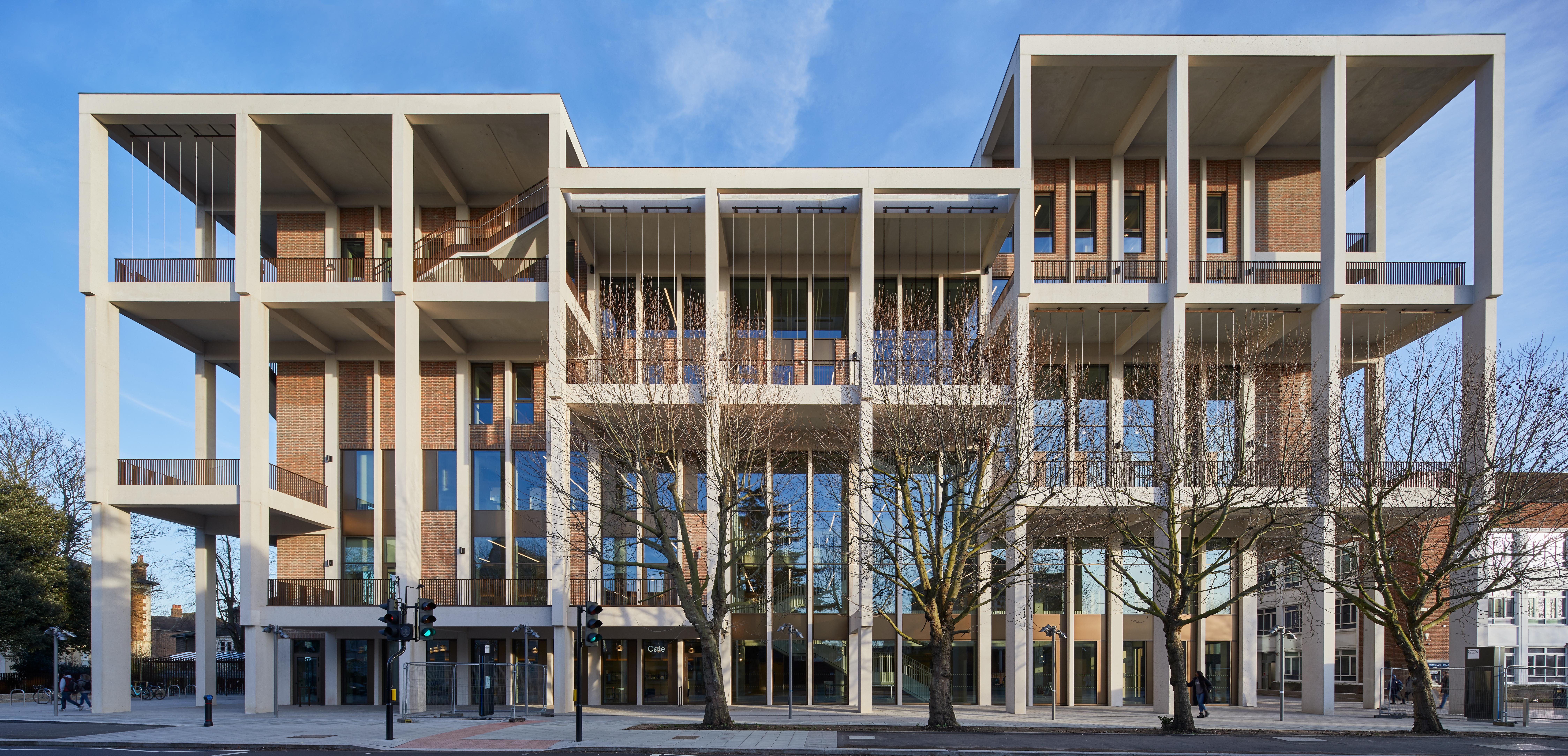 The £50m lovenest: Kingston's new library is a place to find books – and romance