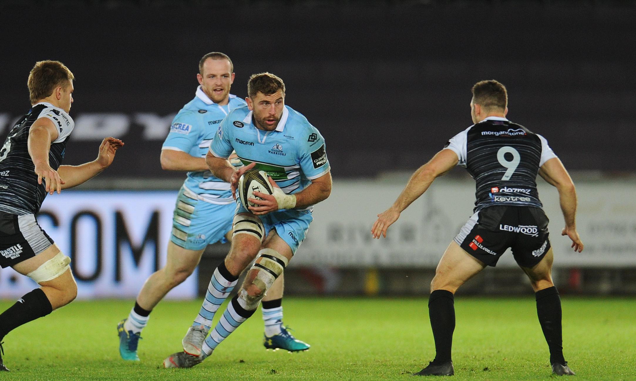 Glasgow's Callum Gibbins warns Saracens may suffer Twickenham hangover